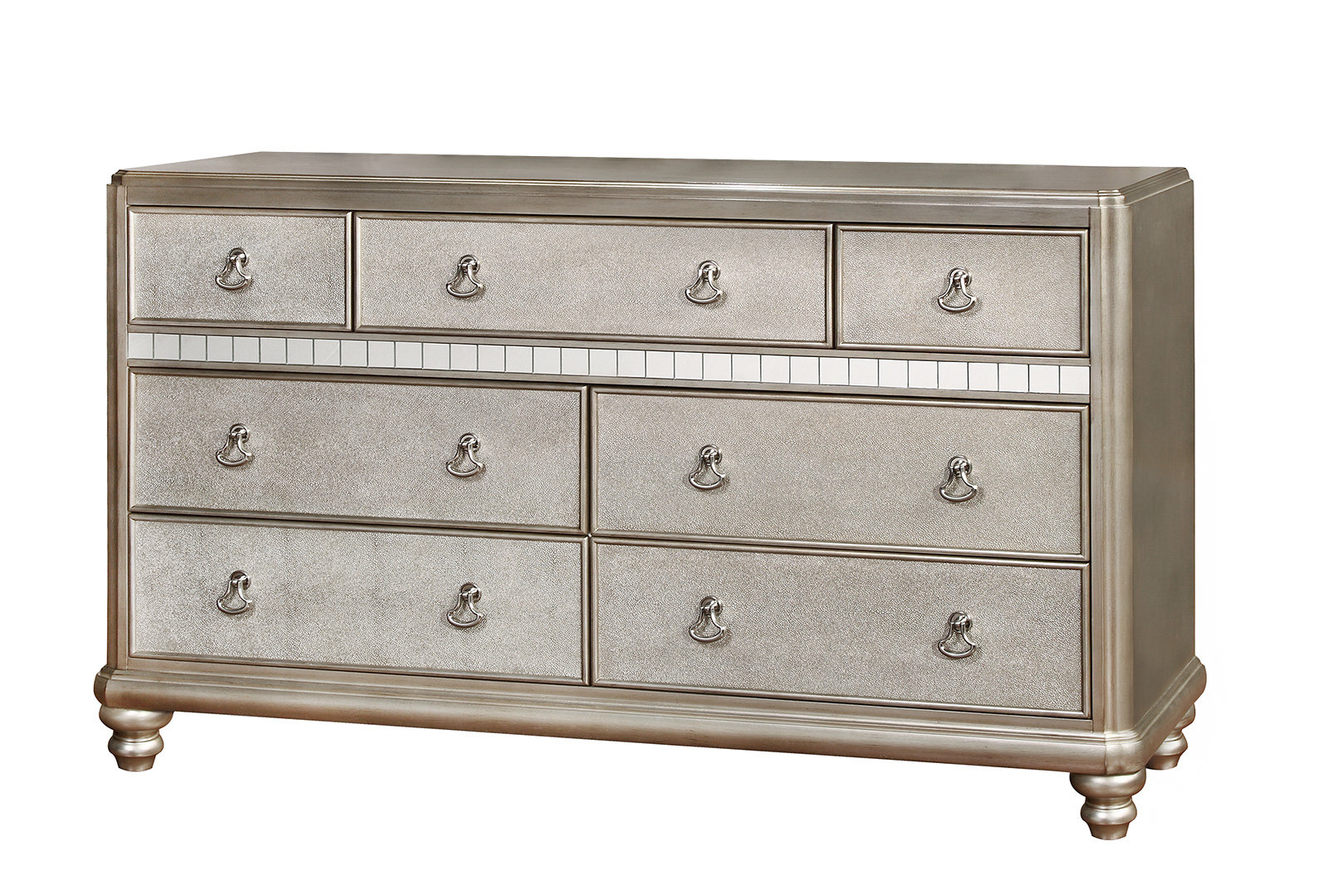 Most Up To Date Rani 4 Door Sideboards In Willa Arlo Interiors Annunziata 7 Drawer Dresser & Reviews (View 9 of 20)