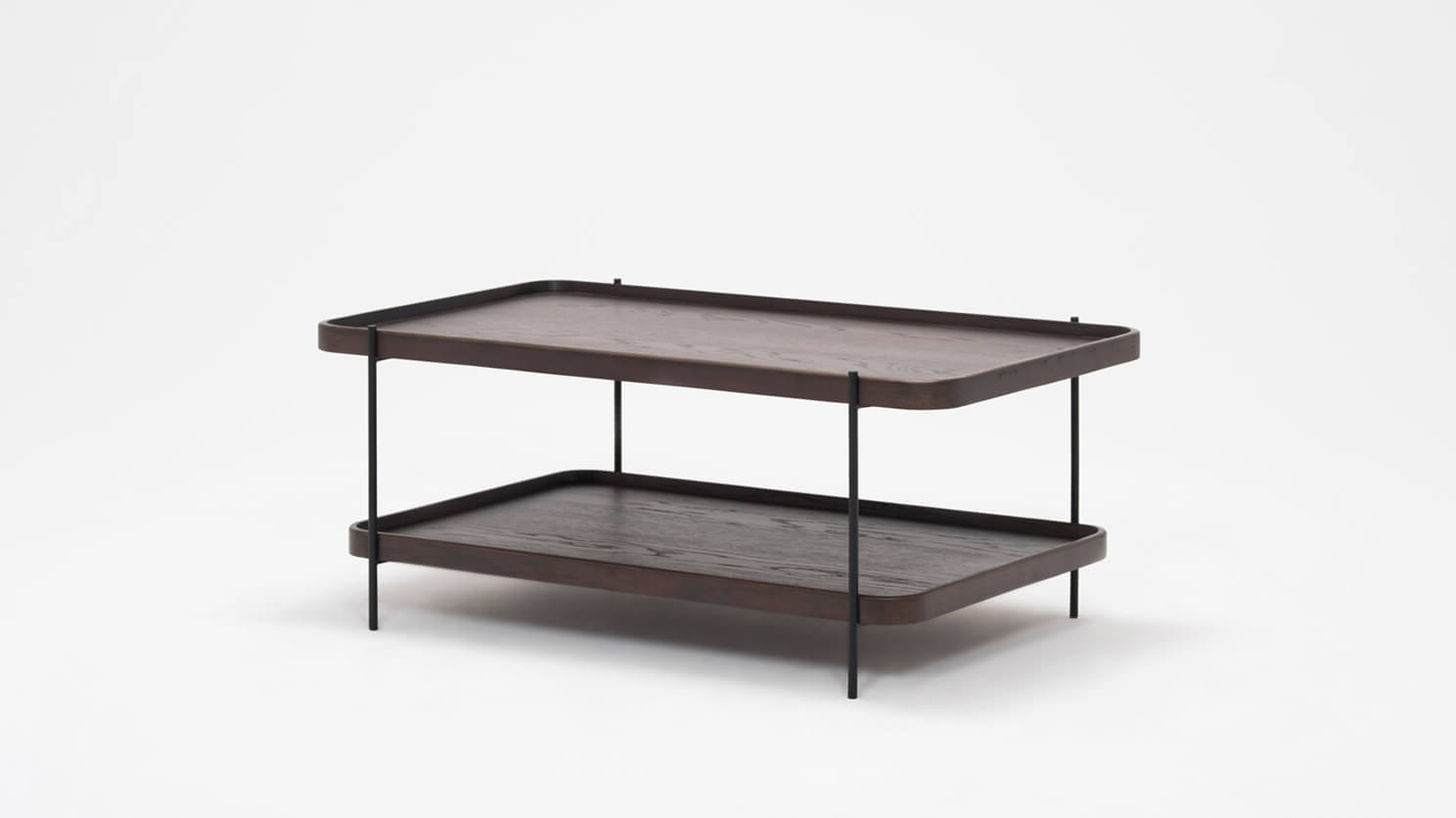 Most Up To Date Sage Rectangle Coffee Table – Smoked Oak (View 10 of 20)