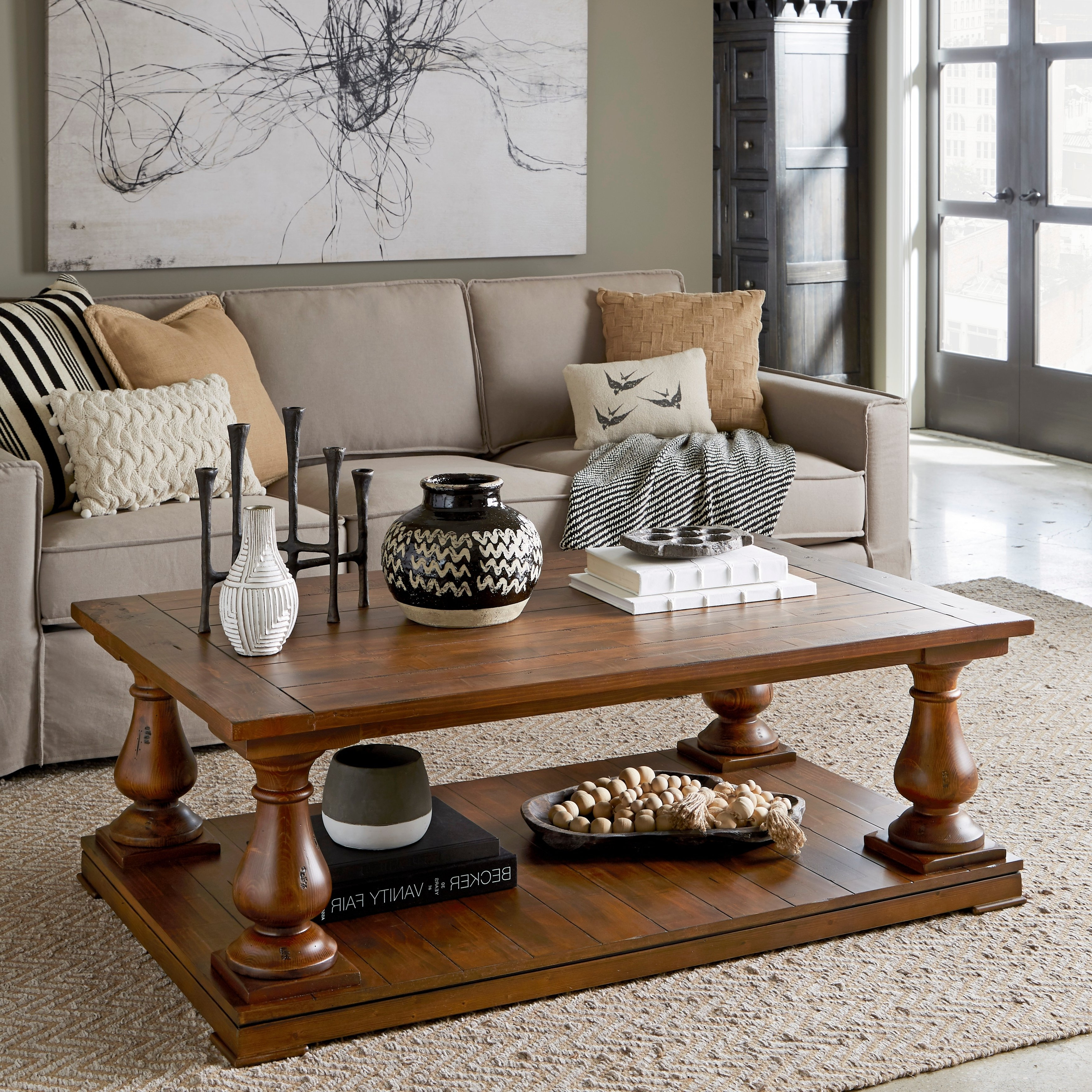 Most Up To Date Shop Densbury Traditional Rustic Natural Pine Coffee Table – On Sale In Natural Pine Coffee Tables (View 20 of 20)