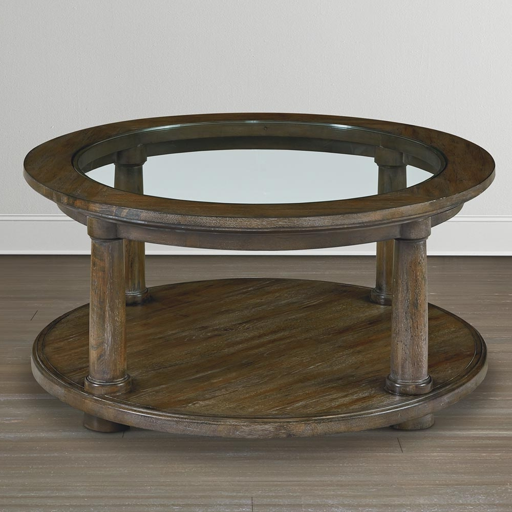 Most Up To Date Swell Round Coffee Tables With Regard To Round Coffee Table Simple Decoration Furniture — New Home Design (View 3 of 20)