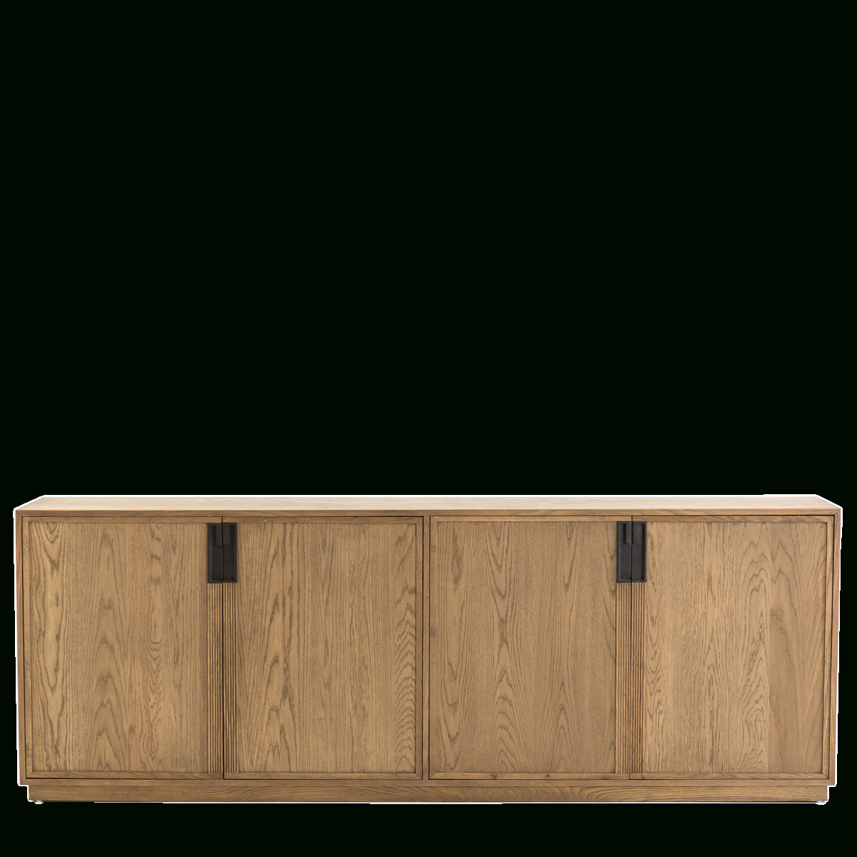 "Most Up To Date Thea Sideboard – 94.5"" W X 20"" D X 34"" H • Material: Iron & Oak Inside Starburst 3 Door Sideboards (Gallery 12 of 20)"