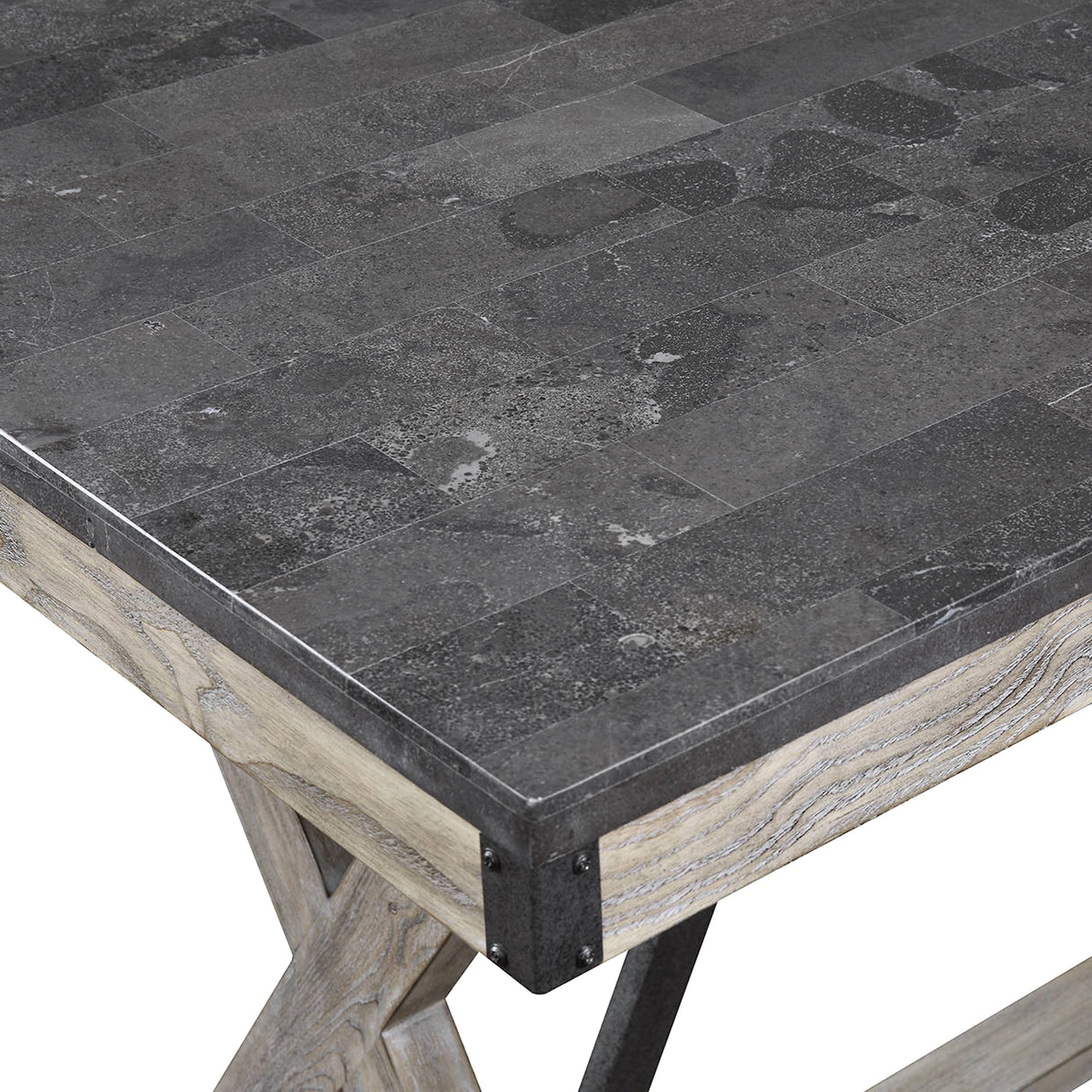 Mother Ideas: Bluestone Top Coffee Table, Architectural Designed In Newest Bluestone Rustic Black Coffee Tables (View 12 of 20)