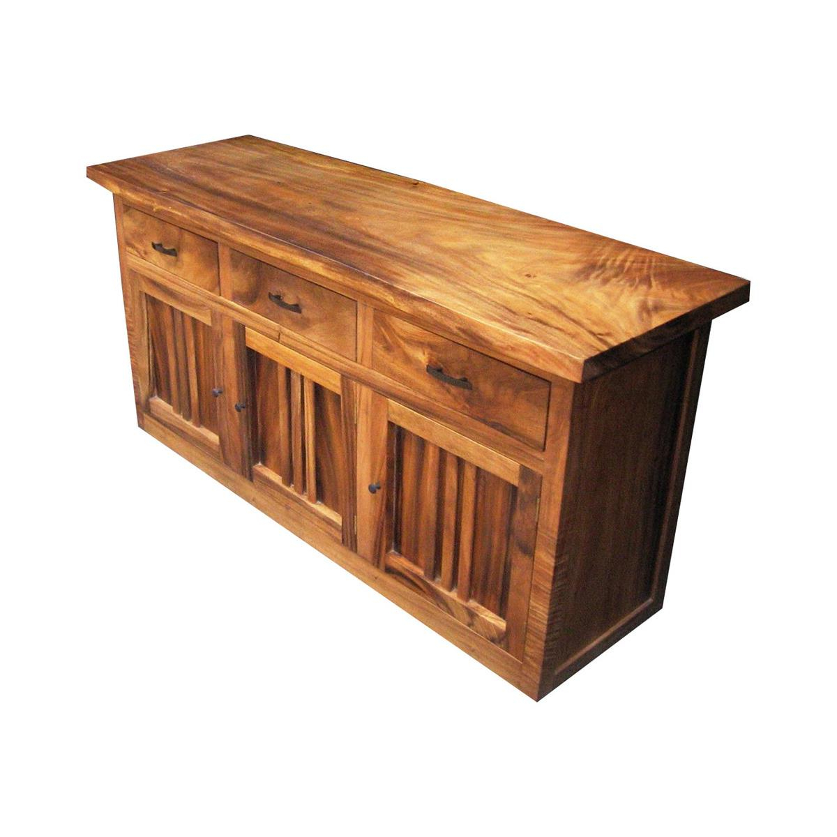 Natural Oak Wood 78 Inch Sideboards With Regard To Best And Newest Monsoon Wood   Dining Buffet At Elementfinefurniture Hand Made (Gallery 10 of 20)