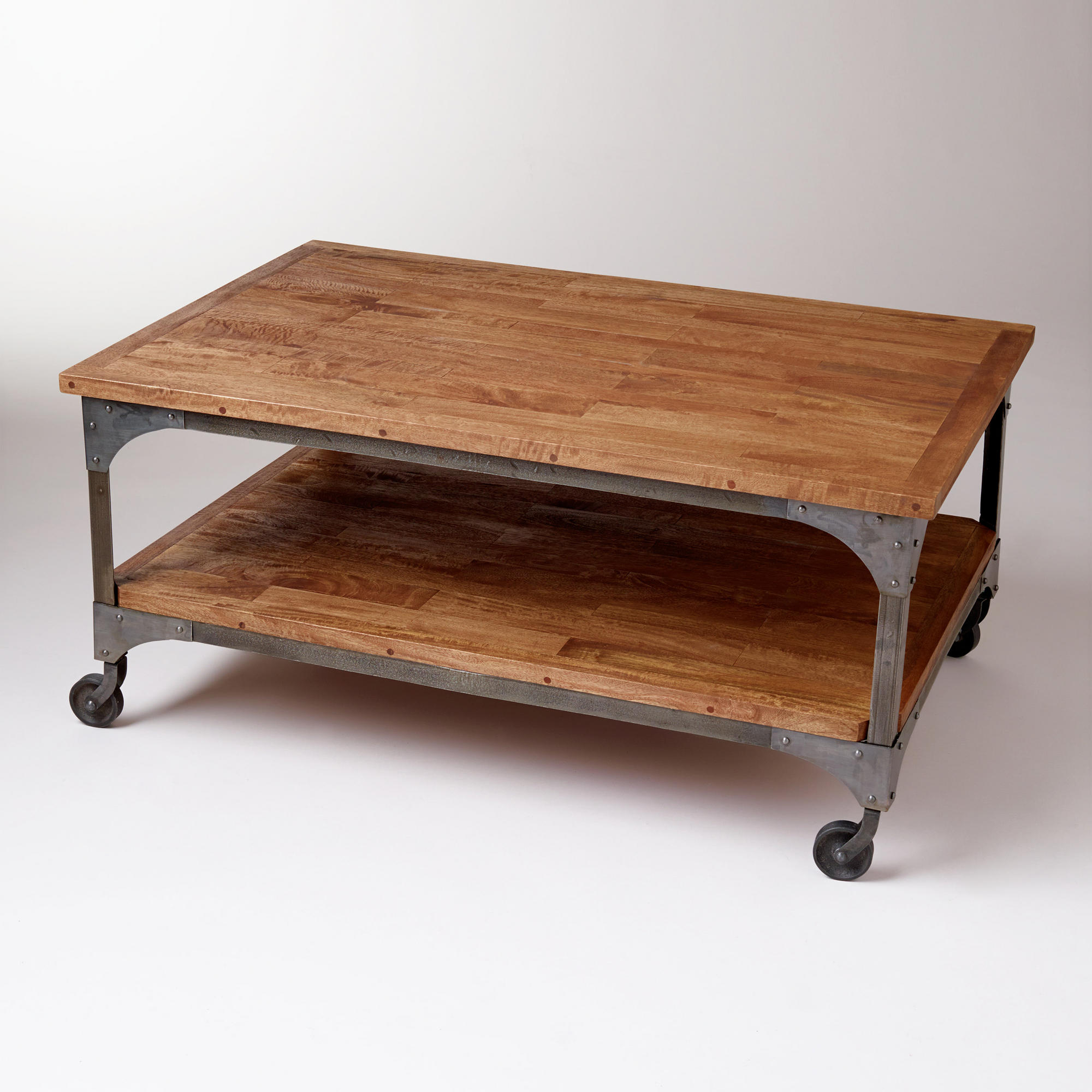 Natural Wheel Coffee Tables For Well Known Coffee Table: Wonderful Cheap Wood Coffee Table Small Coffee Table (View 8 of 20)