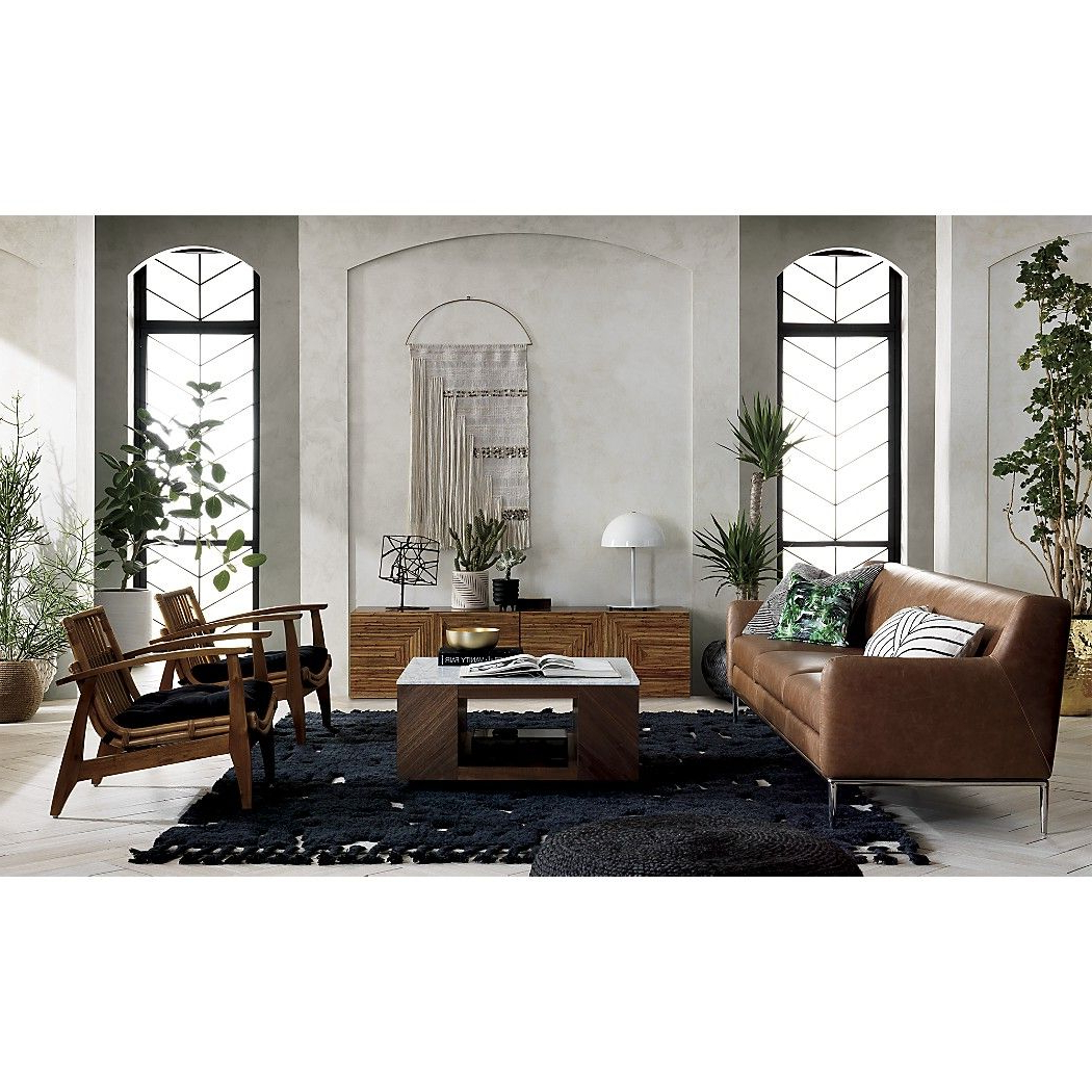Featured Photo of Suspend Ii Marble And Wood Coffee Tables