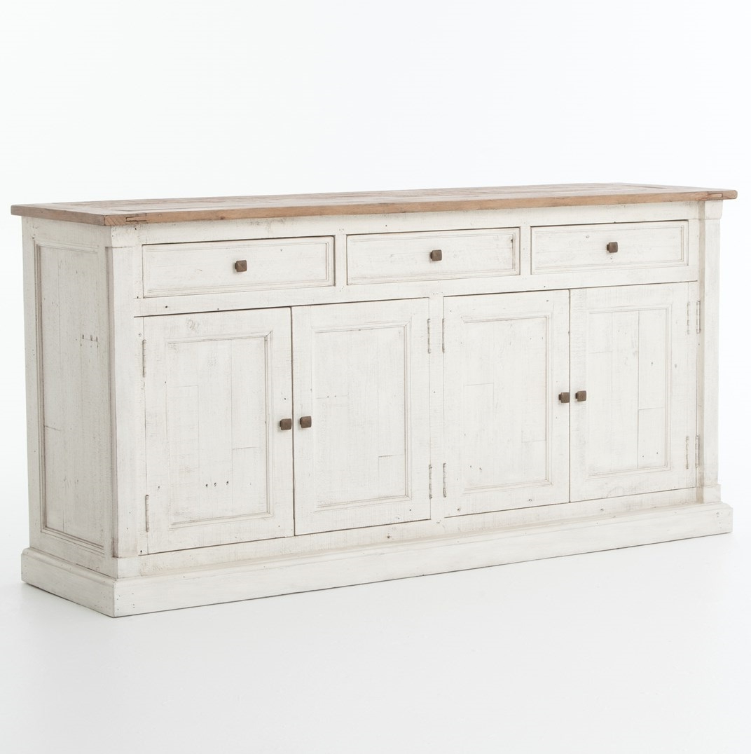 Newest Antique White Sideboard Buffet Tips (View 19 of 20)