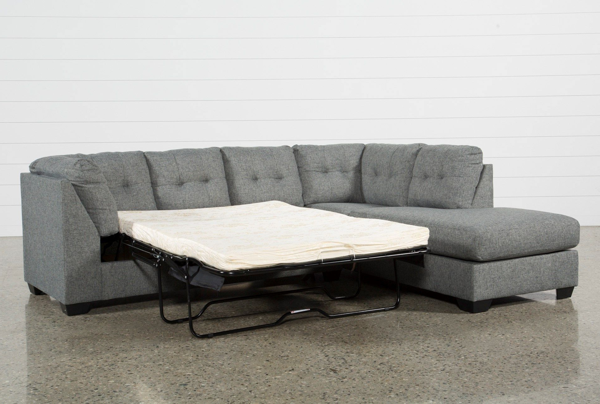 Newest Arrowmask 2 Piece Sectional W/sleeper & Left Facing Chaise For Arrowmask 2 Piece Sectionals With Laf Chaise (Gallery 2 of 20)