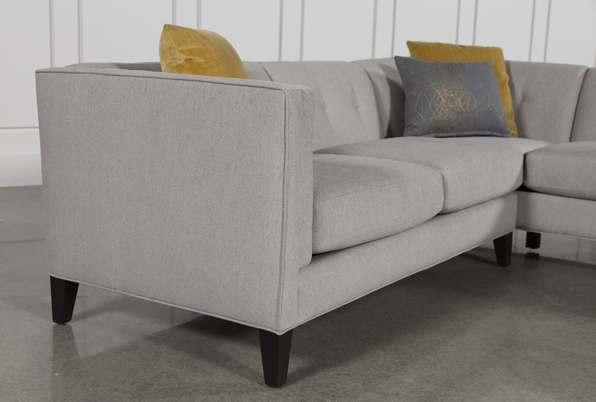 Newest Avery 2 Piece Sectional W/laf Armless Chaise (View 18 of 20)