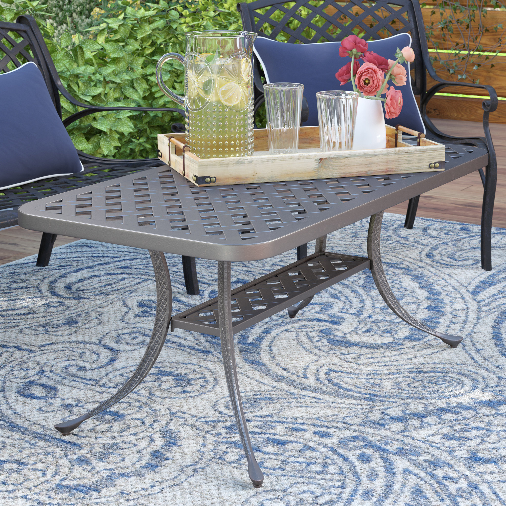 Newest Darby Home Co Nola Coffee Table & Reviews (View 8 of 20)