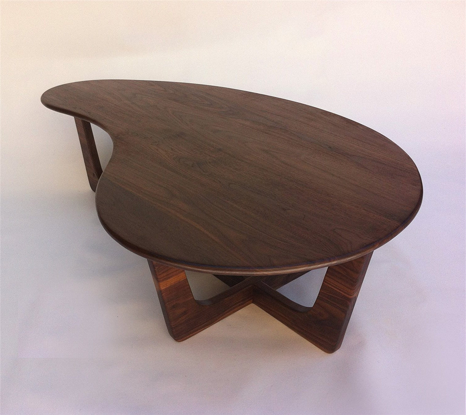 Newest Furniture: Alluring Kidney Shaped Coffee Table With Futuristic With Jelly Bean Coffee Tables (View 14 of 20)