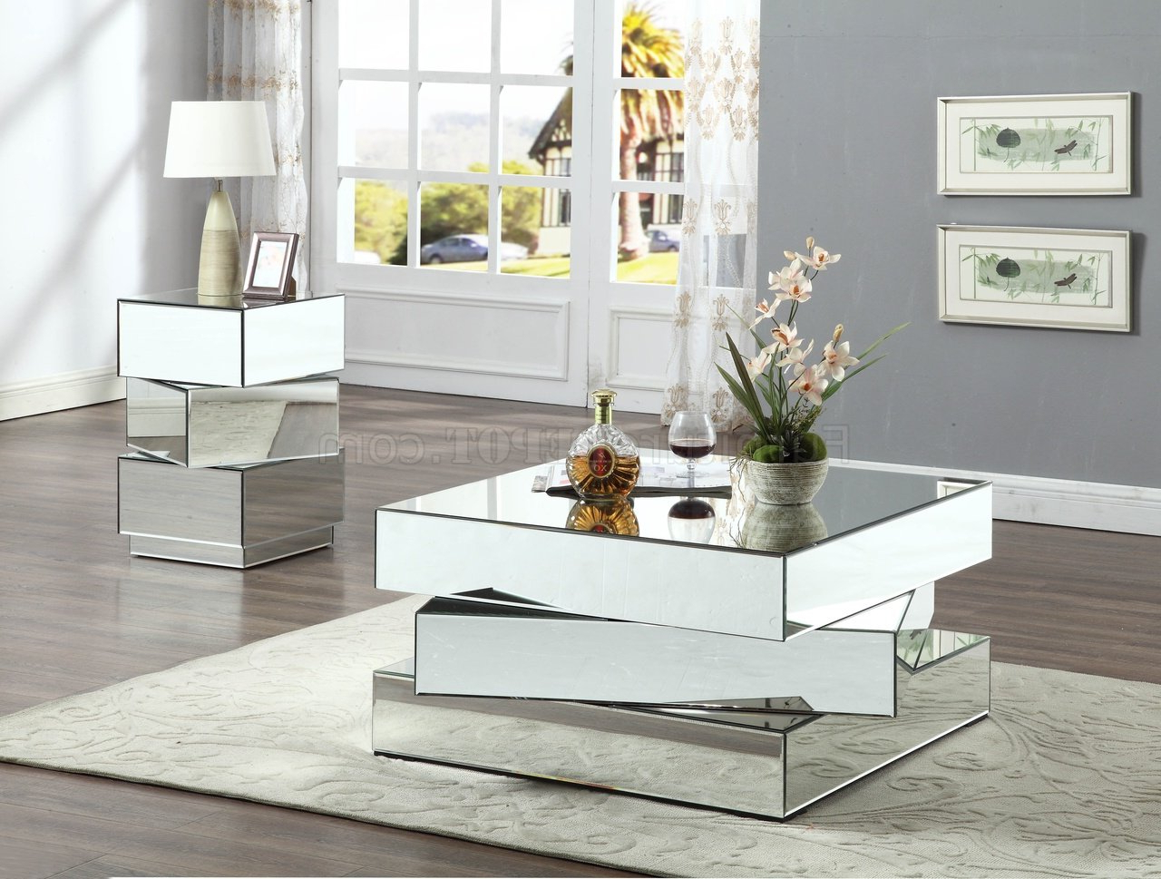 Newest Haven Coffee Tables Throughout Haven Coffee Table 228 W/optional End Tablemeridian (Gallery 2 of 20)