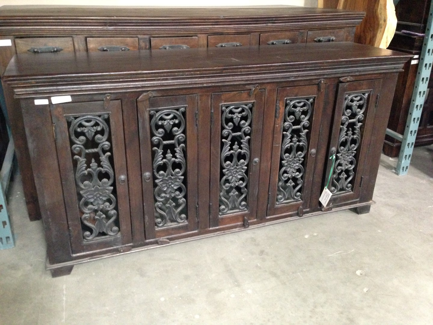 Newest Iron Sideboards Inside Imported Rustic Sideboards From India, China, Indonesia And Mexico (View 9 of 20)