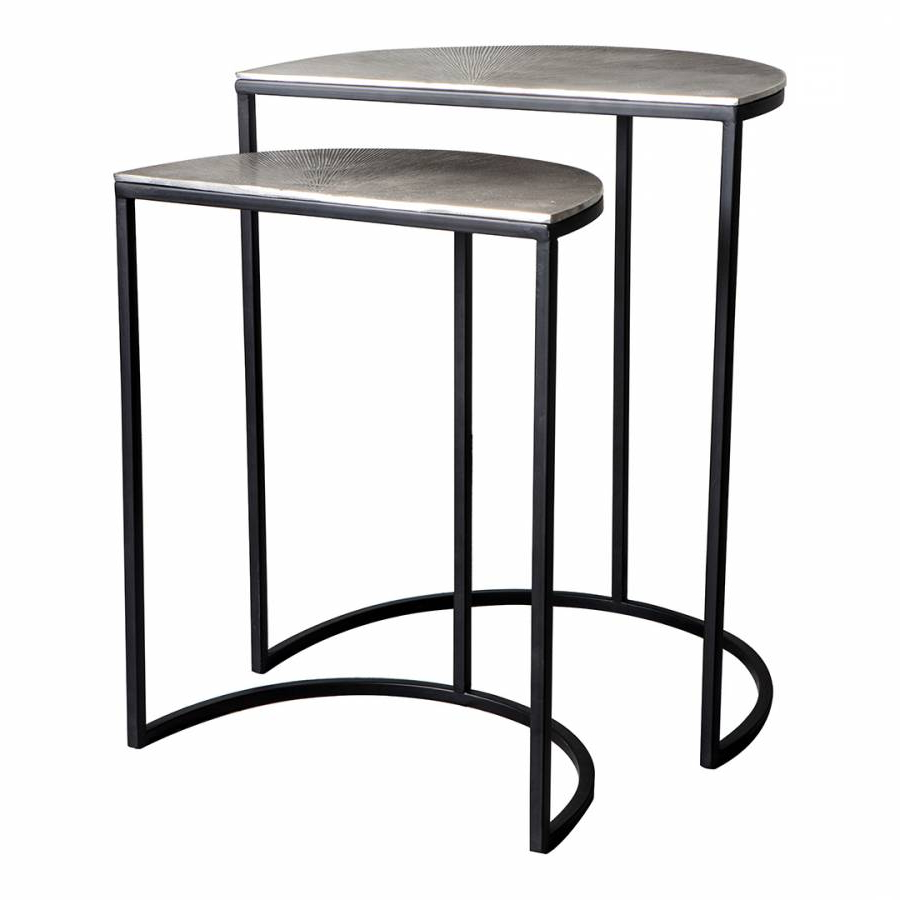 Newest Jackson Marble Side Tables For Delfin Side Tables – Brandalley (View 13 of 20)