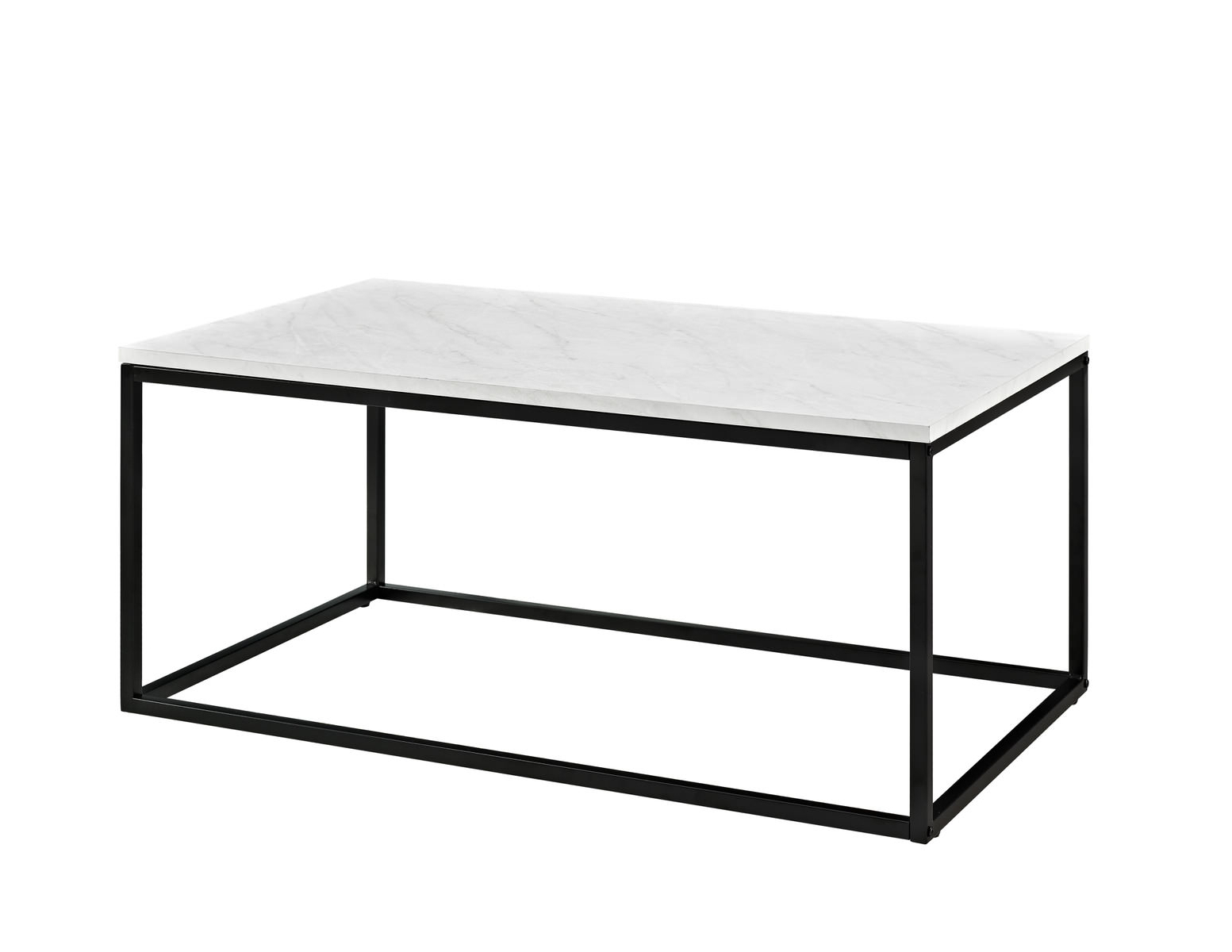 Newest Jackson Marble Side Tables Within 42 Inch Mixed Material Coffee Table – Marblewalker Edison (View 14 of 20)
