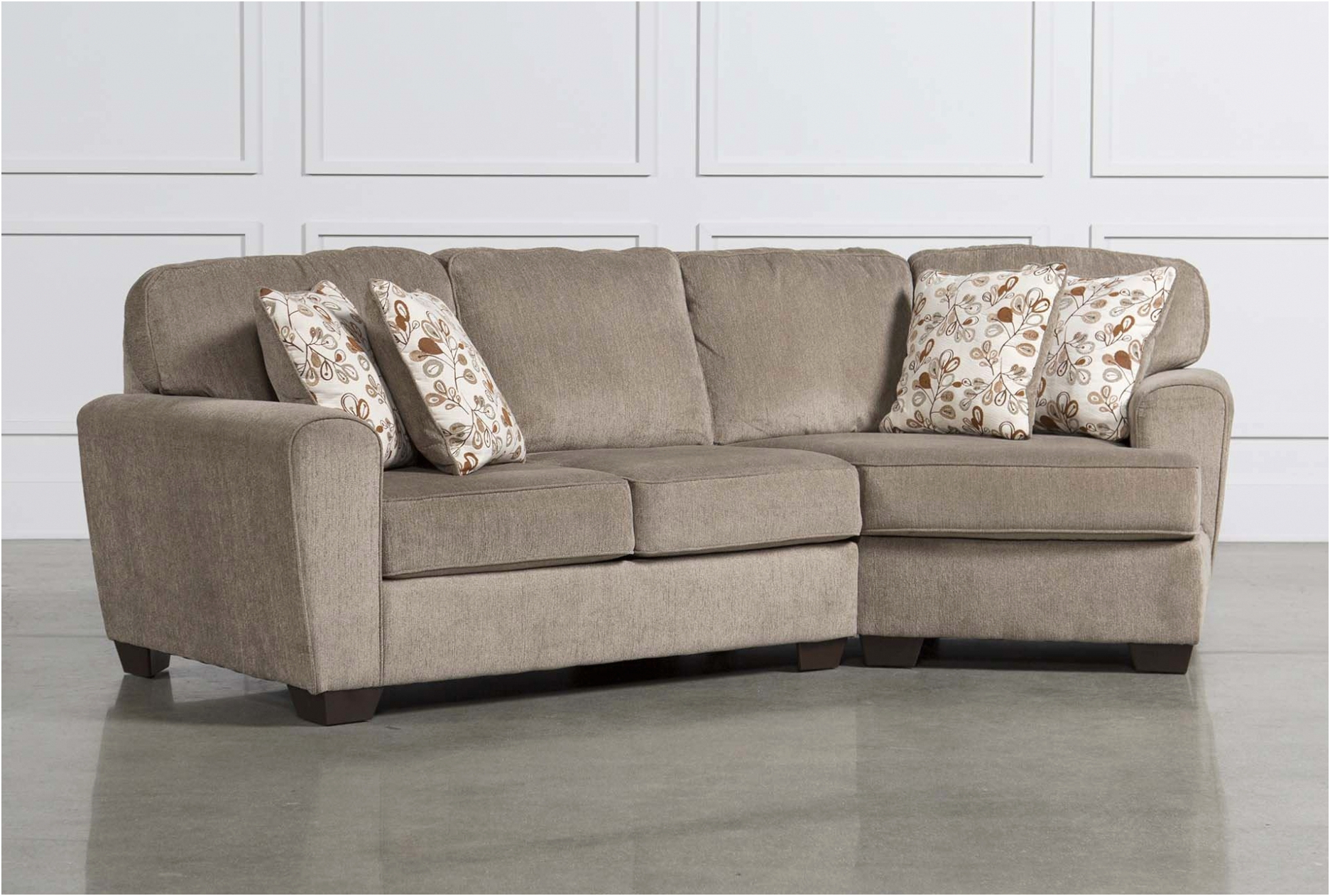 Newest Living Spaces Sectional Sofa Bed – Sofa Design Ideas Intended For Aquarius Light Grey 2 Piece Sectionals With Laf Chaise (Gallery 14 of 20)