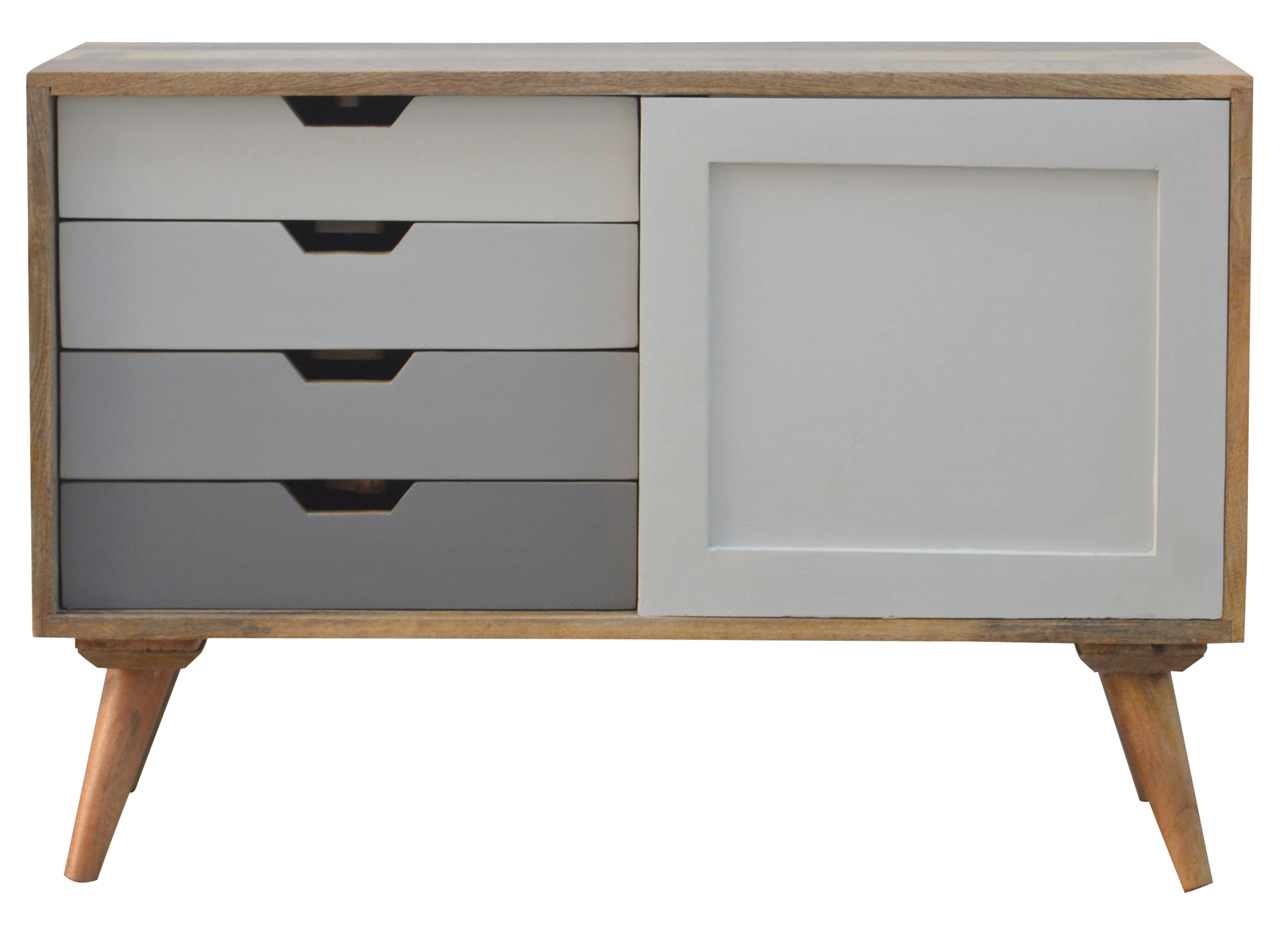 Newest Mandara 3 Drawer 2 Door Sideboards Within Nordic Sliding Cabinet With 4 Drawersartisan Furniture In (Gallery 14 of 20)