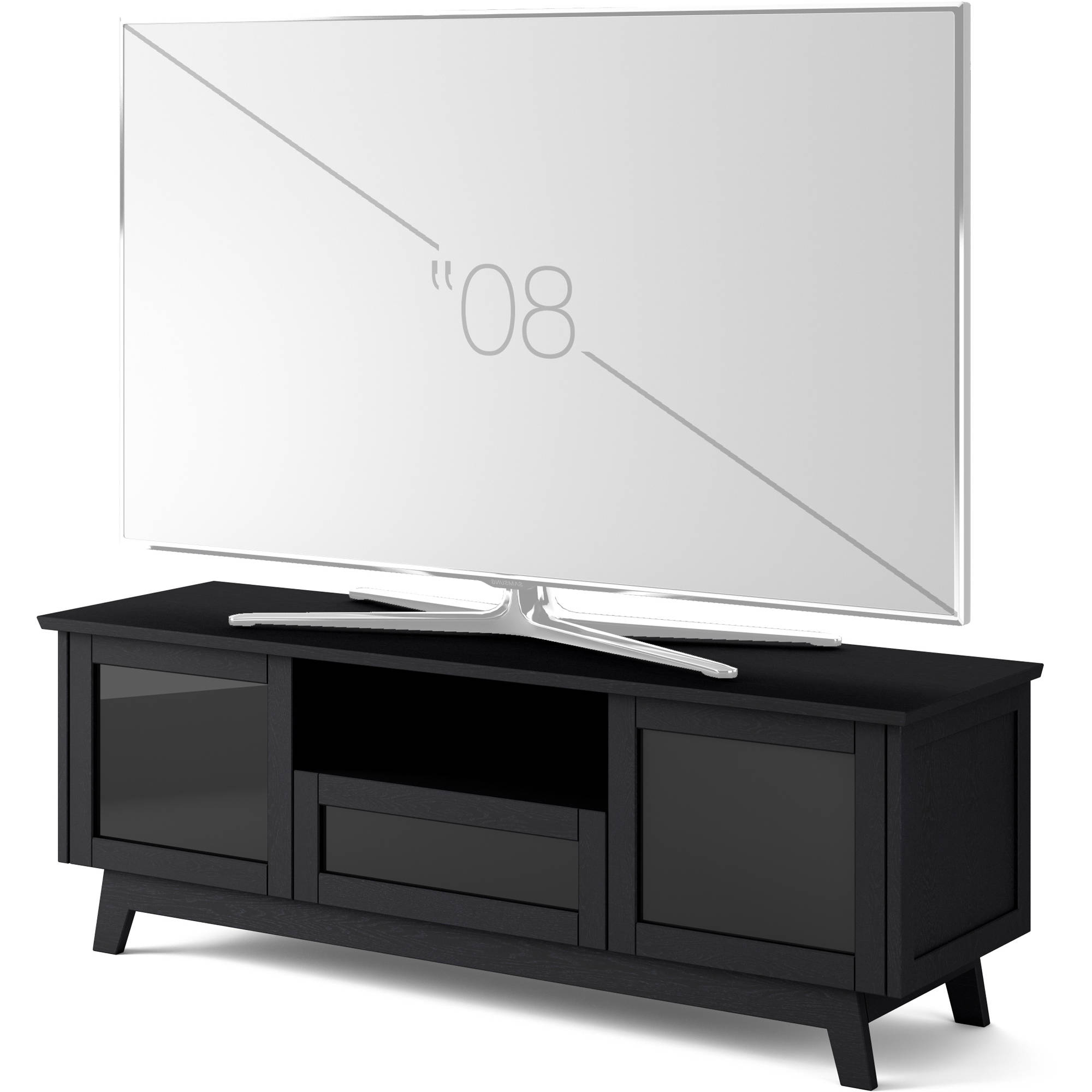 Newest Salamander Designs Audio/video Cabinet In Black Sdav5/7225/bo In Solar Refinement Sideboards (Gallery 16 of 20)
