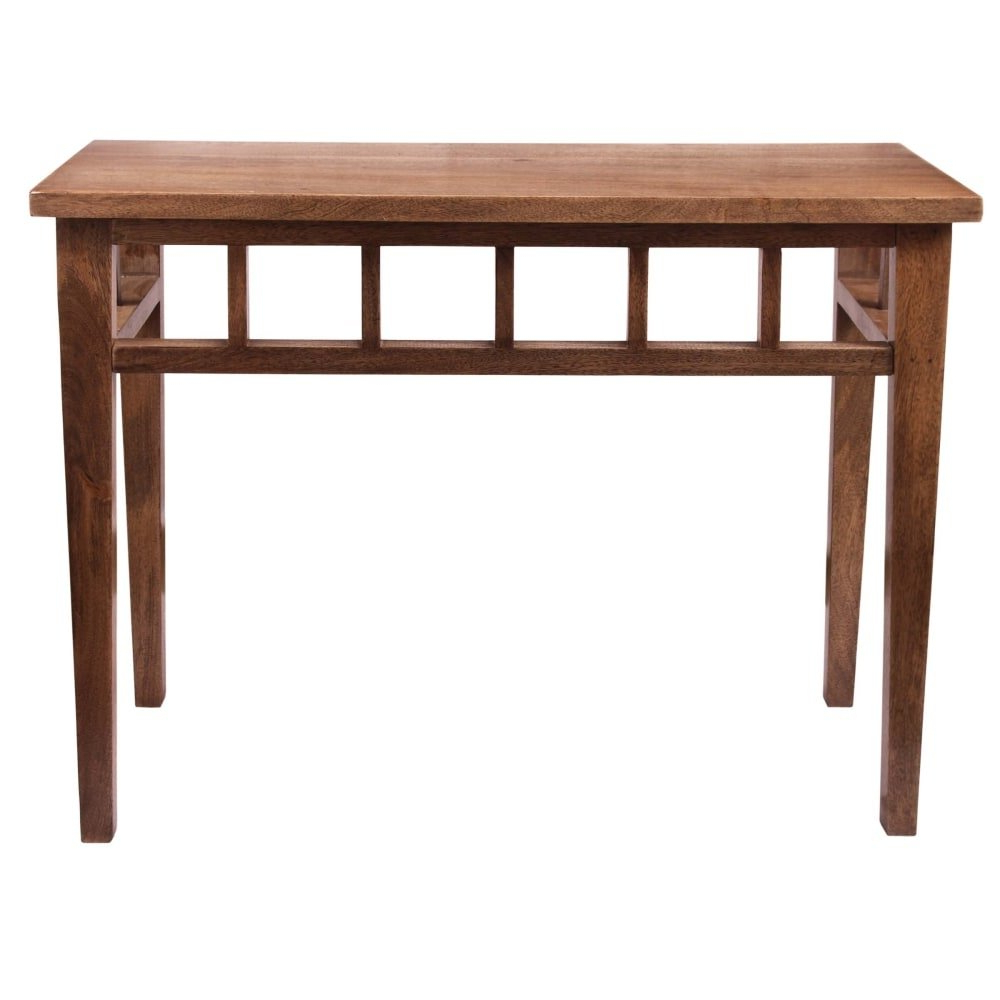 "Newest Shop Kenroy Home 65084Twal Felicity 38"" Long Wood Console Table For Felicity Cocktail Tables (Gallery 10 of 20)"