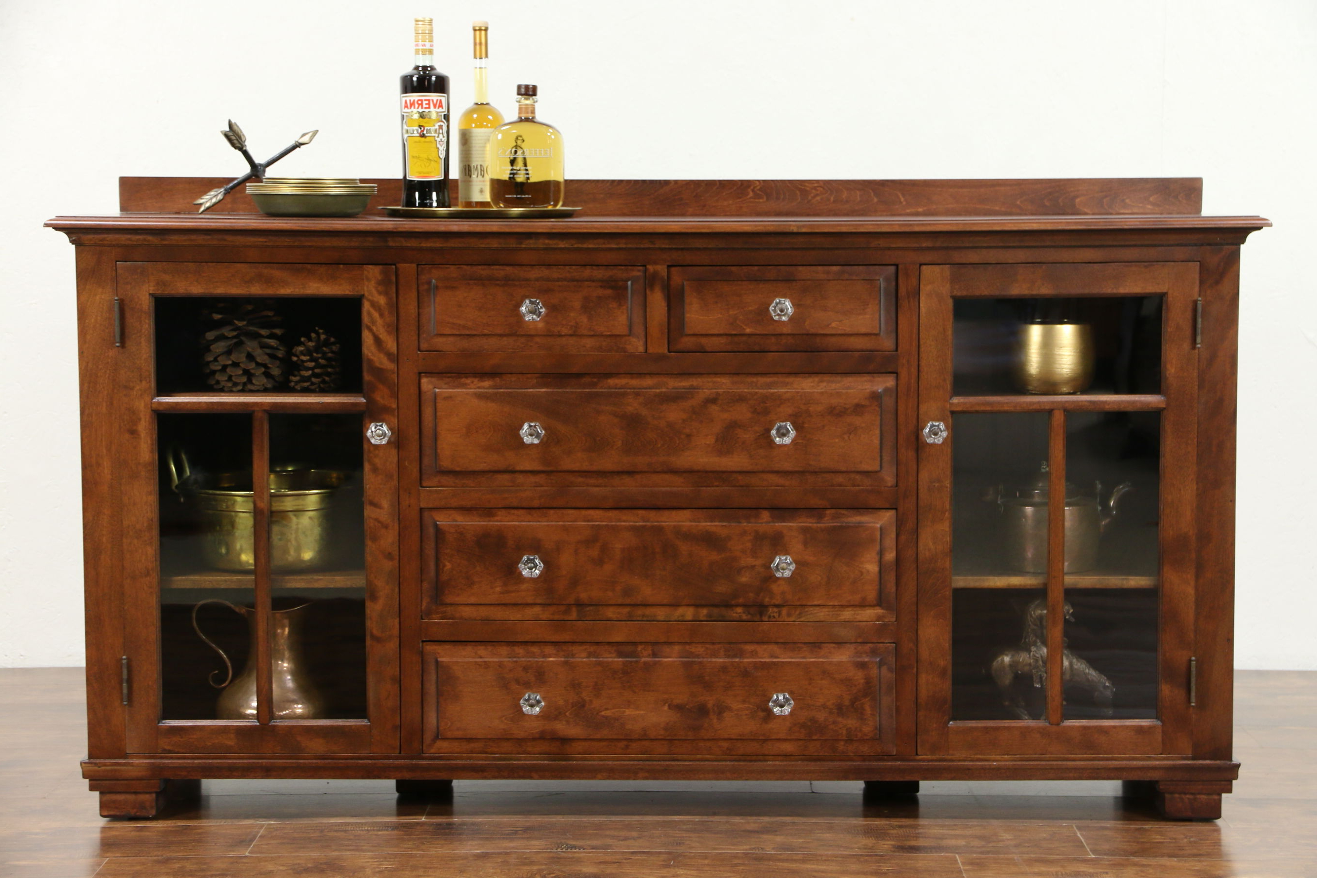 Newest Sold – Craftsman 1910 Antique Sideboard Cabinet, Tv Console – Harp With Regard To Craftsman Sideboards (View 15 of 20)