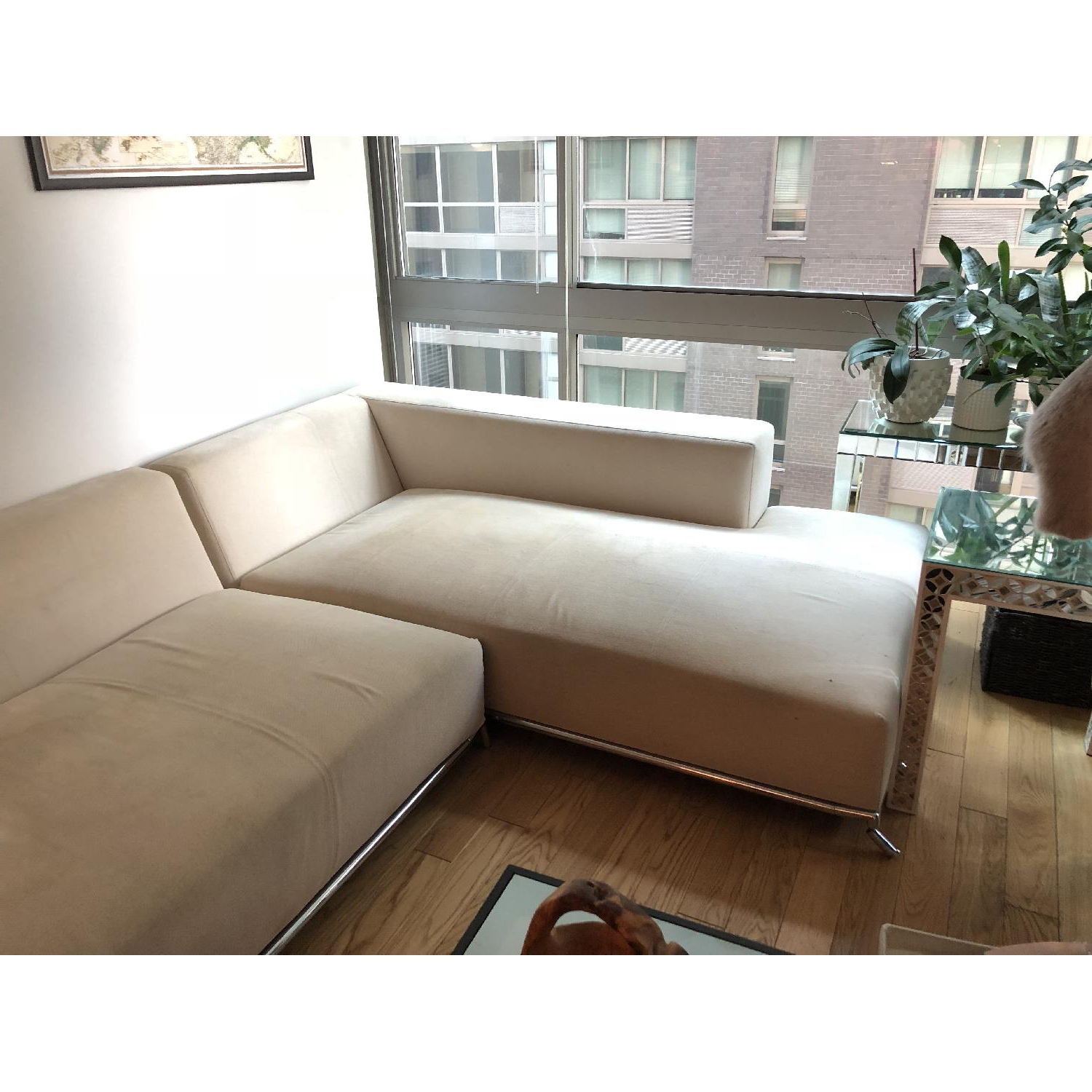 Newest Tenny Dark Grey 2 Piece Right Facing Chaise Sectionals With 2 Headrest Inside 2 Piece Chaise Sectional Sofa (View 12 of 20)