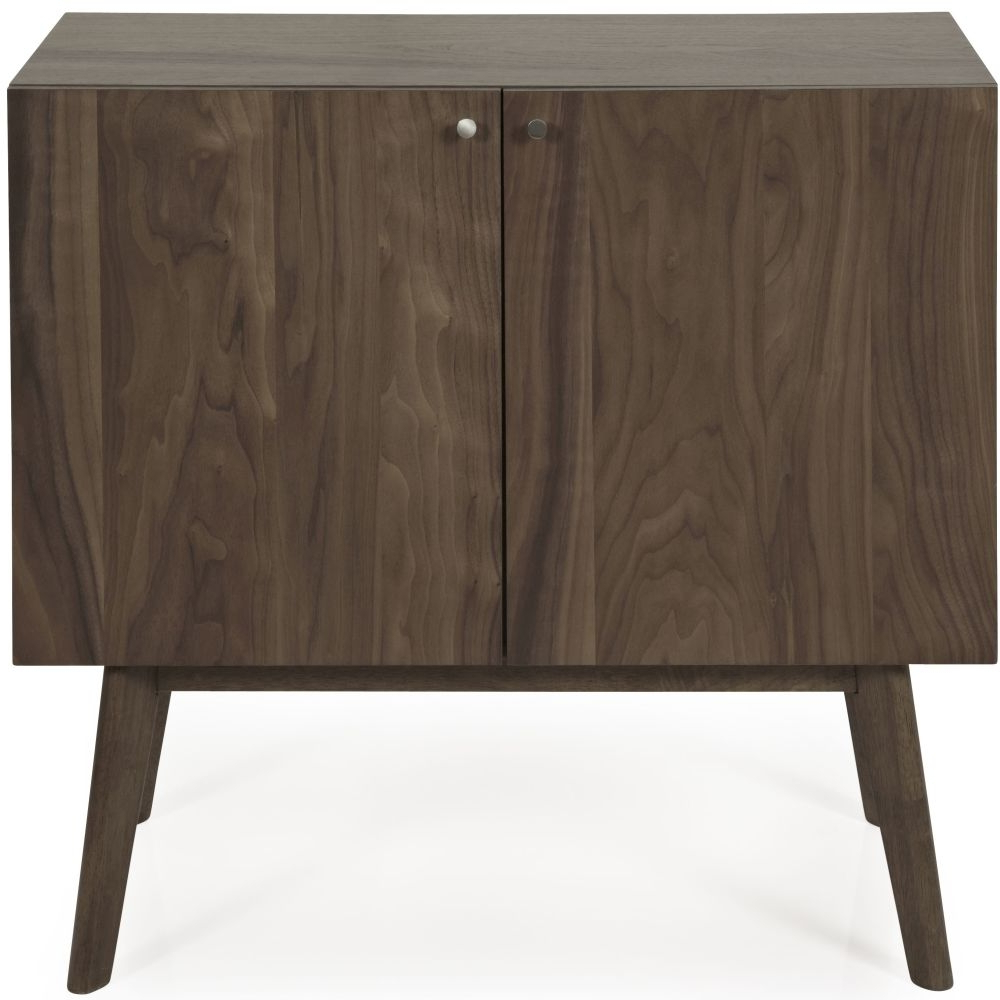 Newest Walnut Small Sideboards With Buy Serene Finchley Walnut 2 Door Narrow Sideboard Online – Cfs Uk (Gallery 10 of 20)
