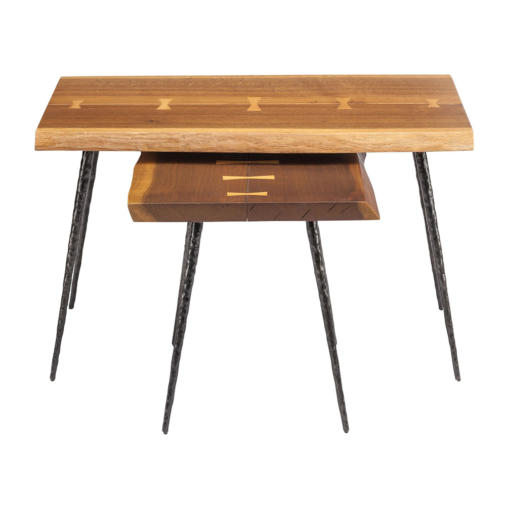 Nexa Nesting Side Table – Smoked Oak – Rouse Home With Popular Smoked Oak Side Tables (View 2 of 20)