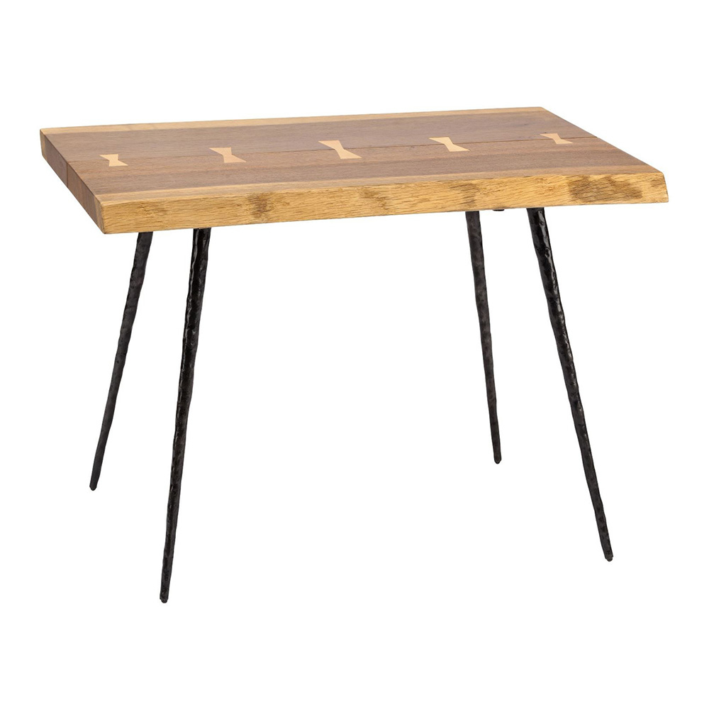 Featured Photo of Smoked Oak Side Tables