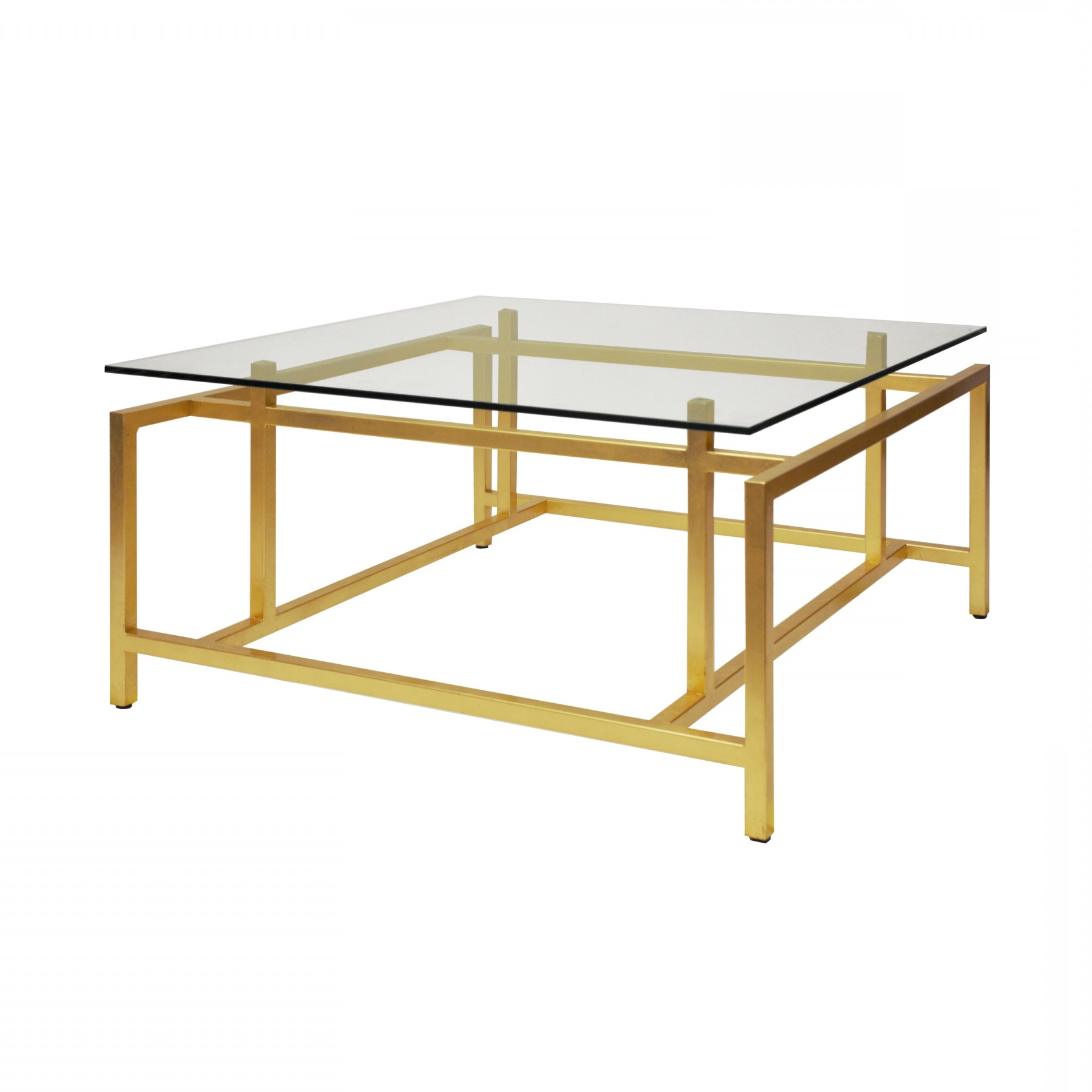 Nigel Gold Leaf Coffee Table (View 13 of 20)
