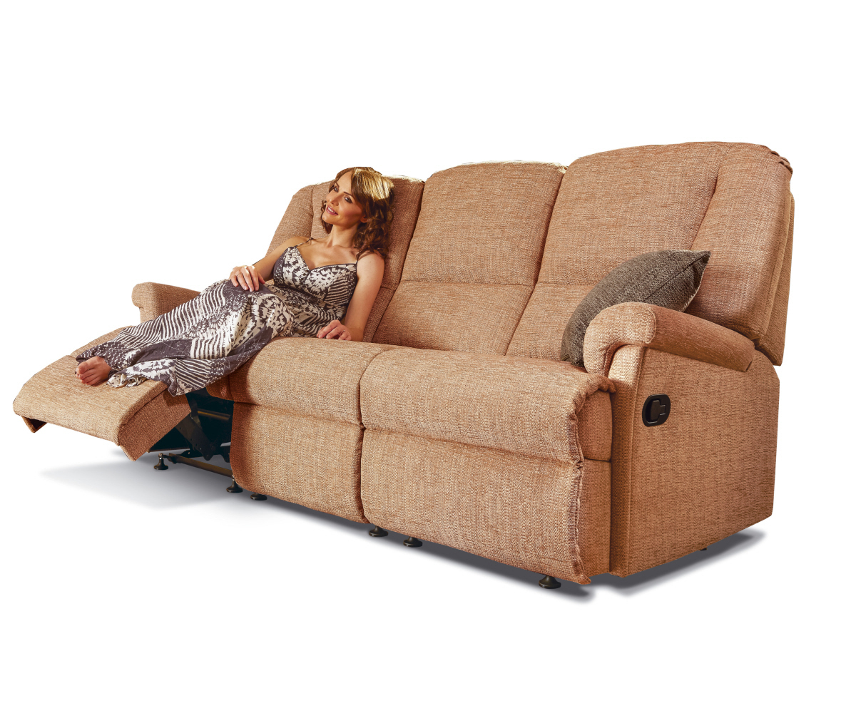 Norfolk Chocolate 3 Piece Sectionals With Raf Chaise Within Preferred Location Chaise Option (View 8 of 20)