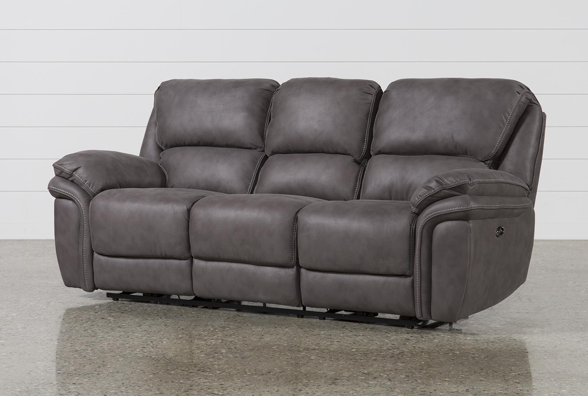 Norfolk Grey 6 Piece Sectionals Pertaining To 2019 Norfolk Grey Power Reclining Sofa (View 13 of 20)