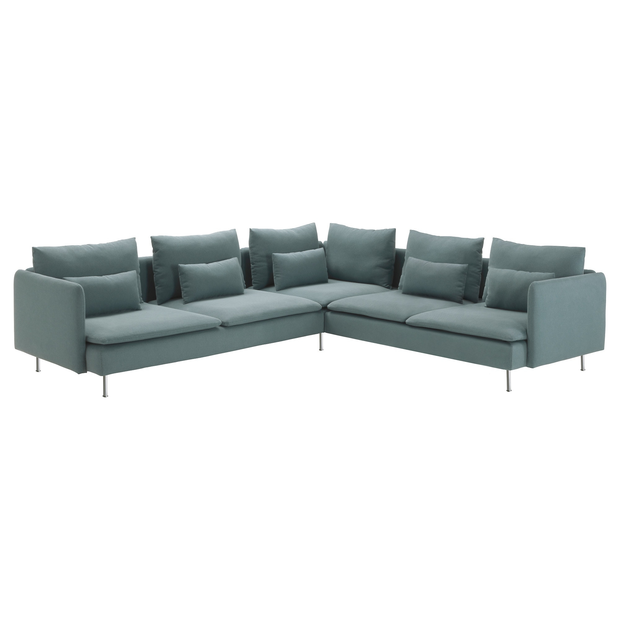 Norfolk Grey 6 Piece Sectionals Pertaining To Best And Newest Söderhamn Sectional, 5 Seat – Samsta Dark Gray – Ikea (View 14 of 20)
