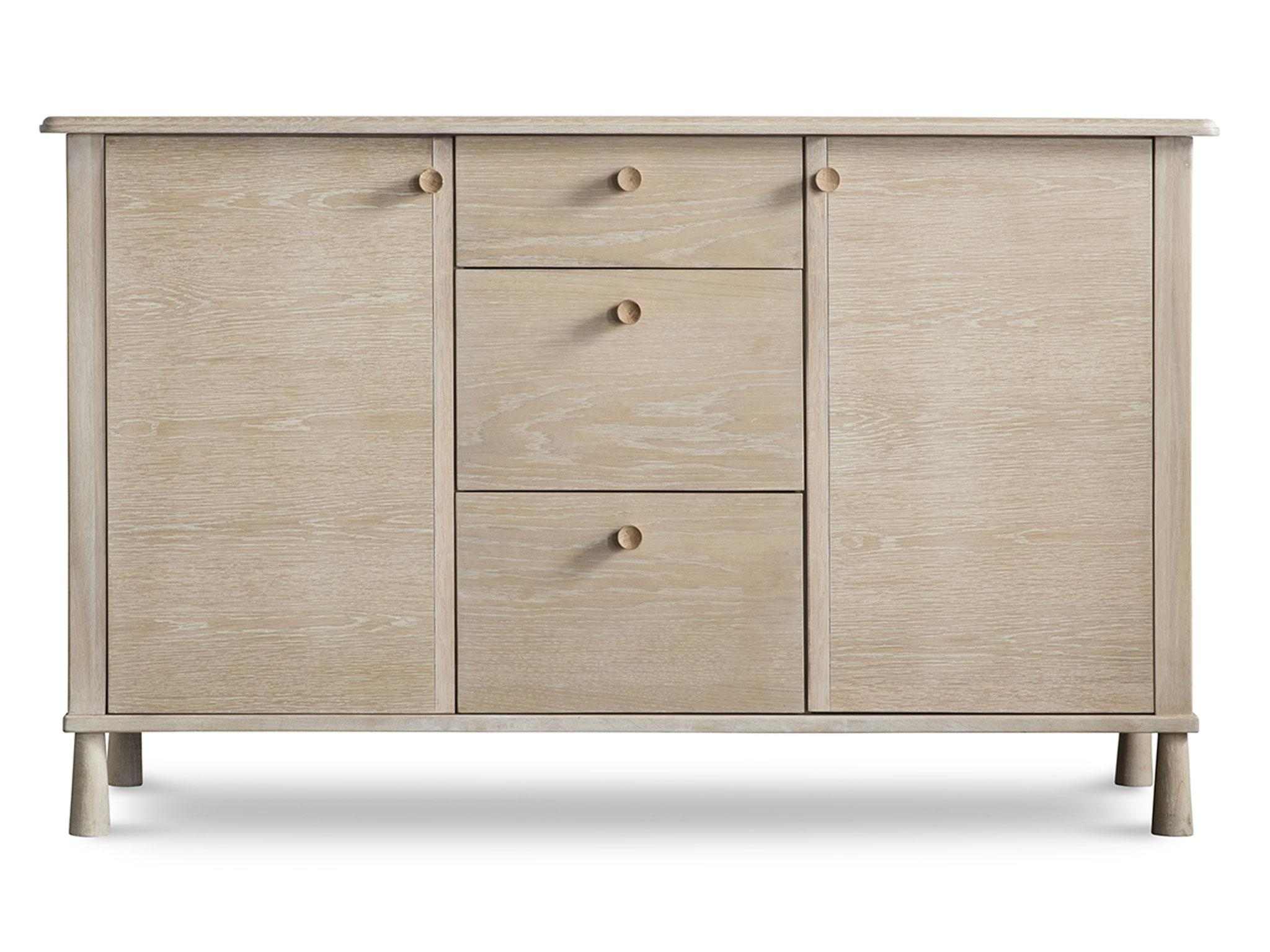 Oil Pale Finish 4 Door Sideboards Intended For Most Up To Date 10 Best Sideboards (Gallery 4 of 20)