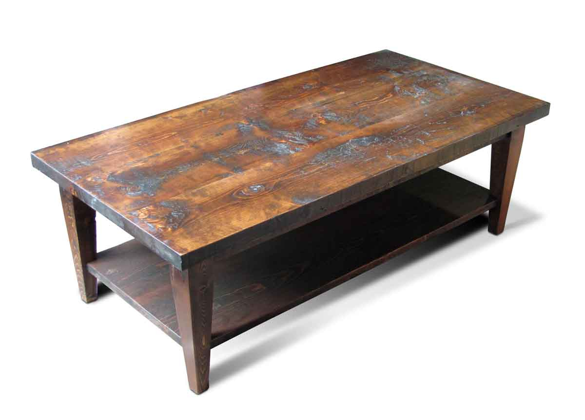 Olde Good Things Regarding Reclaimed Pine & Iron Coffee Tables (Gallery 6 of 20)