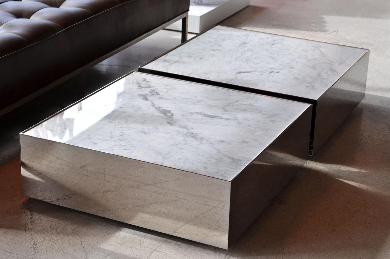 Option Detail Stone Coffee Table — Fossil Brewing Design Regarding Trendy Slab Small Marble Coffee Tables With Antiqued Silver Base (View 11 of 20)