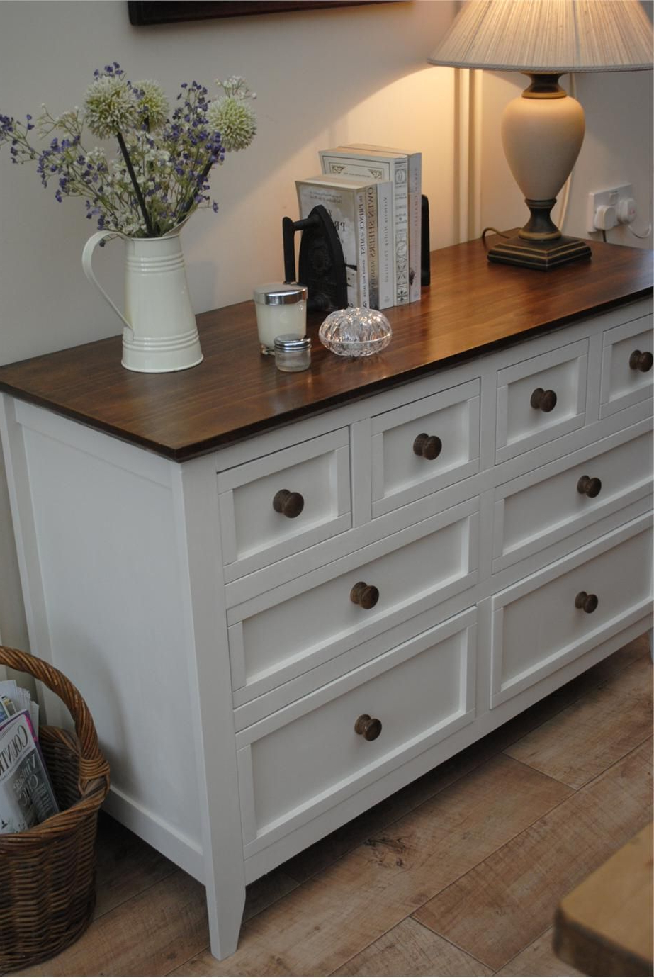 Or This – With Different Knobs And A White Or Grey Or Black Painted Pertaining To Widely Used Satin Black & Painted White Sideboards (View 14 of 20)
