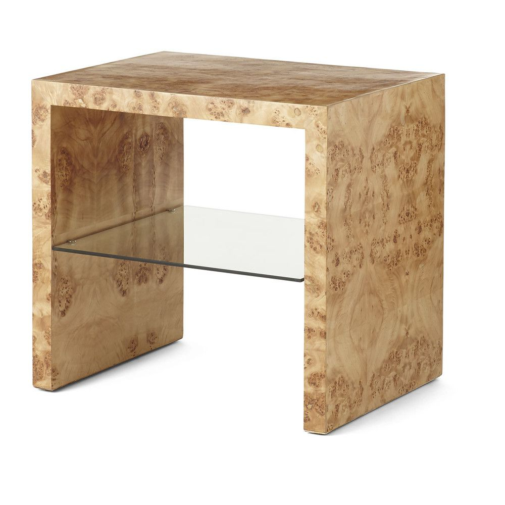 Featured Photo of Oslo Burl Wood Veneer Coffee Tables