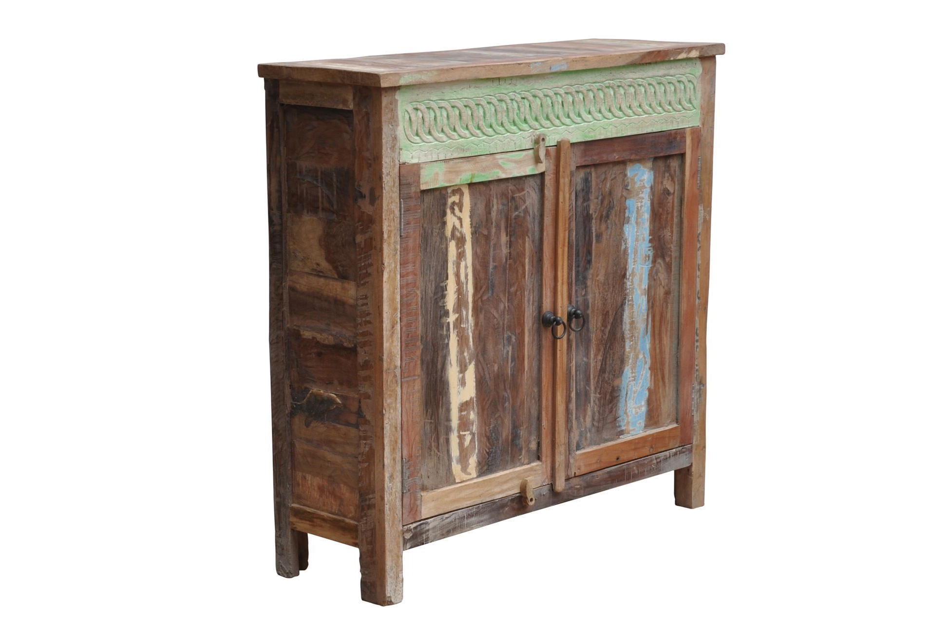 Otb 2Door Blue Accent Chest T For Favorite Neeja 3 Door Sideboards (Gallery 20 of 20)