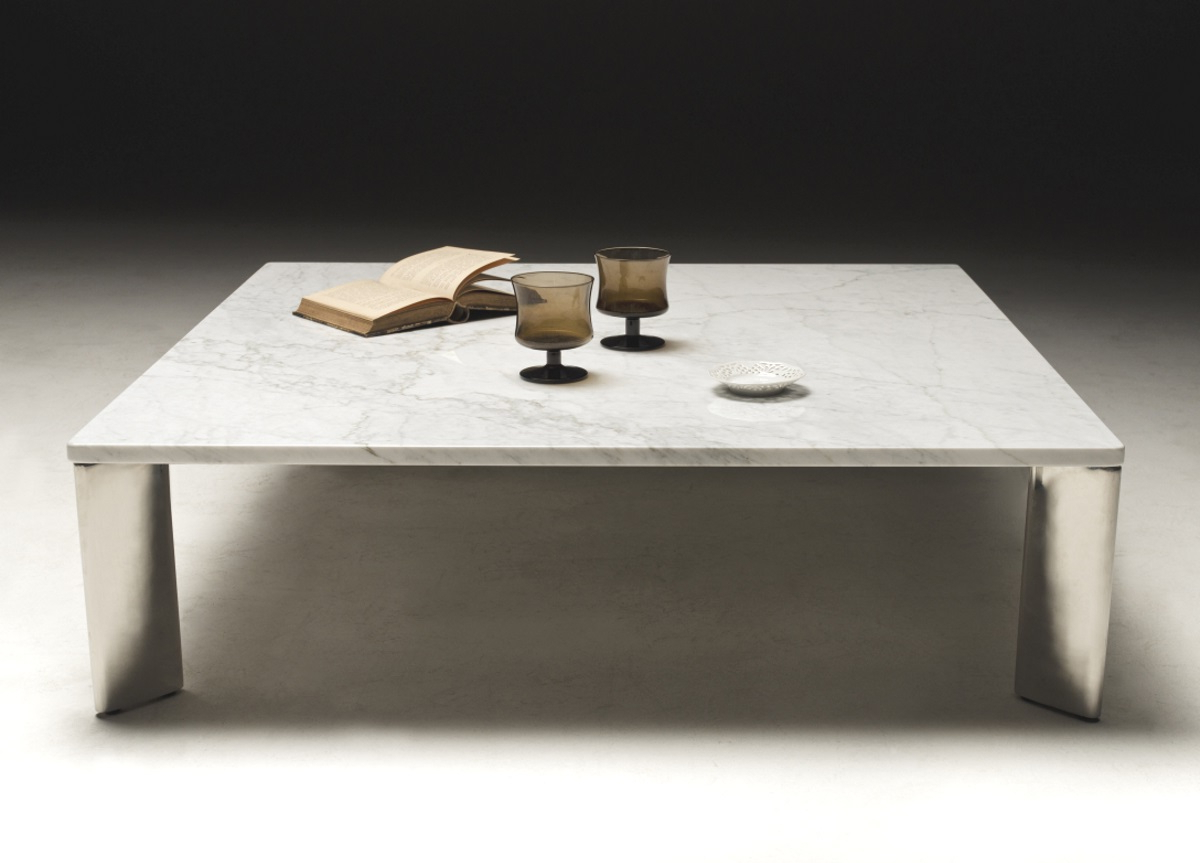 Otello Contemporary Marble Coffee Table – Coffee Tablesloop & Co Inside 2019 Alcide Rectangular Marble Coffee Tables (View 14 of 20)