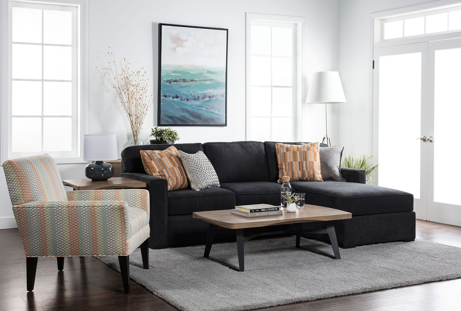 Ottomans Throughout Taren Reversible Sofa/chaise Sleeper Sectionals With Storage Ottoman (View 3 of 20)