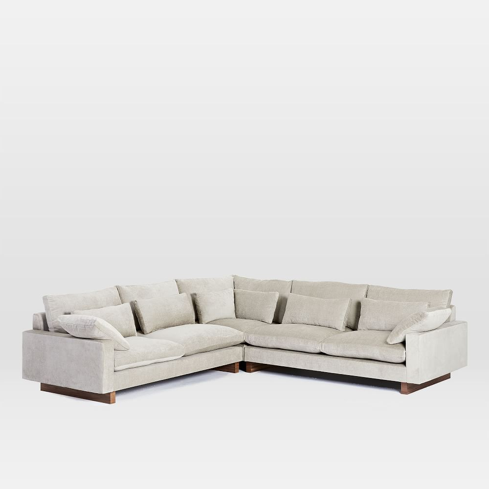 Outdoor Pompeii 3 Piece Sectional With Regard To Favorite Elm Grande Ii 2 Piece Sectionals (View 17 of 20)