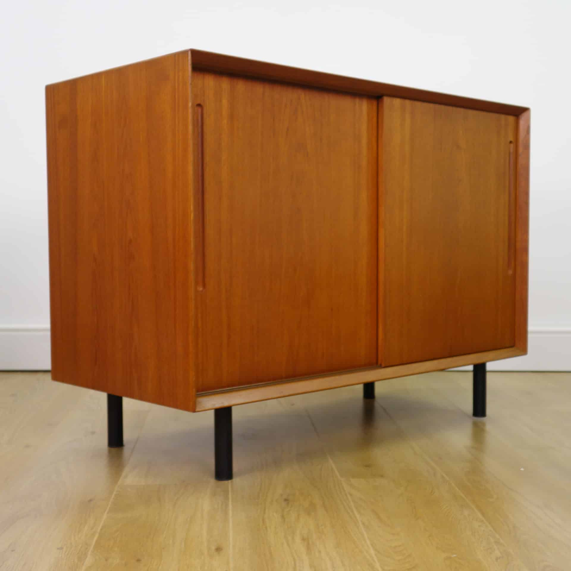Pair Of 1960s Danish Teak Sideboard/drawers – Mark Parrish Mid In Famous Parrish Sideboards (View 13 of 20)