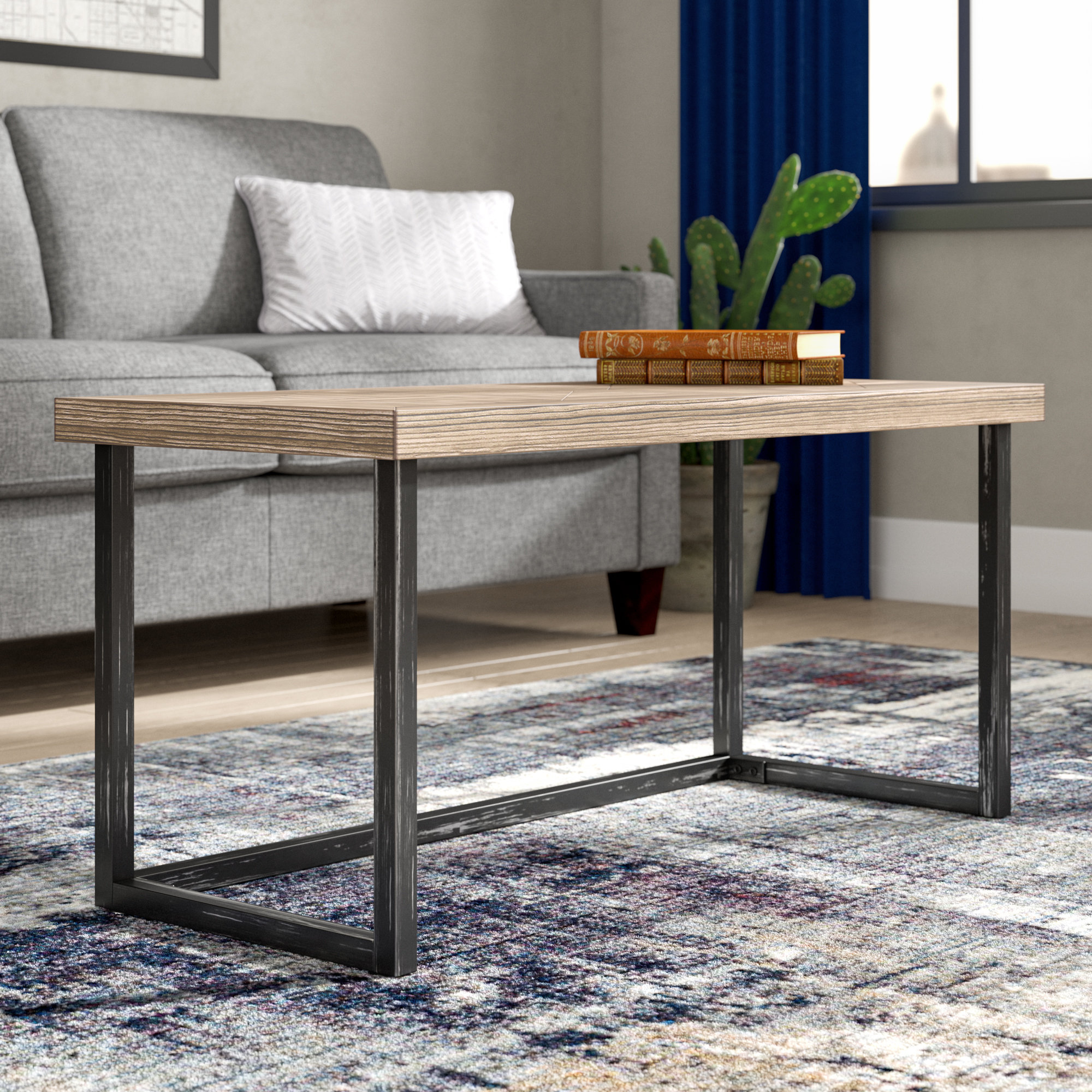 Parquet Coffee Tables Throughout Latest Adalheid Parquet Coffee Table & Reviews (View 16 of 20)
