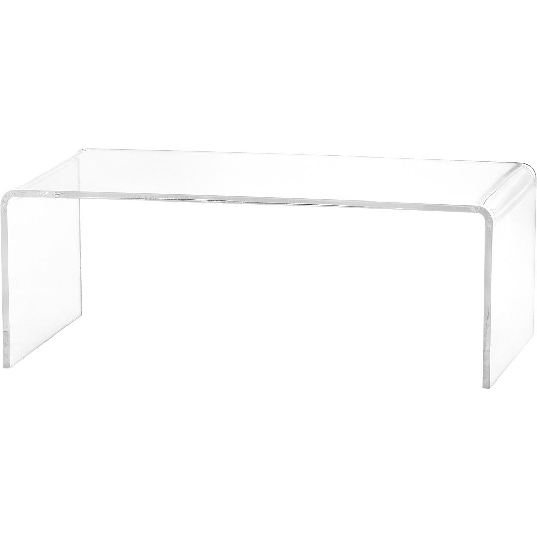 Peekaboo Acrylic Coffee Table (Gallery 8 of 20)