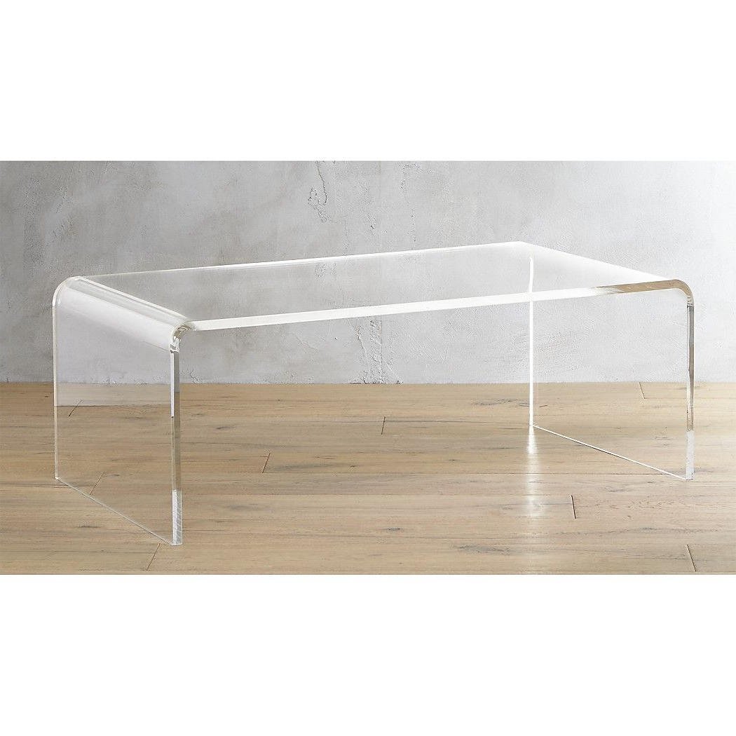 Peekaboo Acrylic Tall Coffee Table With Regard To Widely Used Peekaboo Acrylic Coffee Tables (View 18 of 20)
