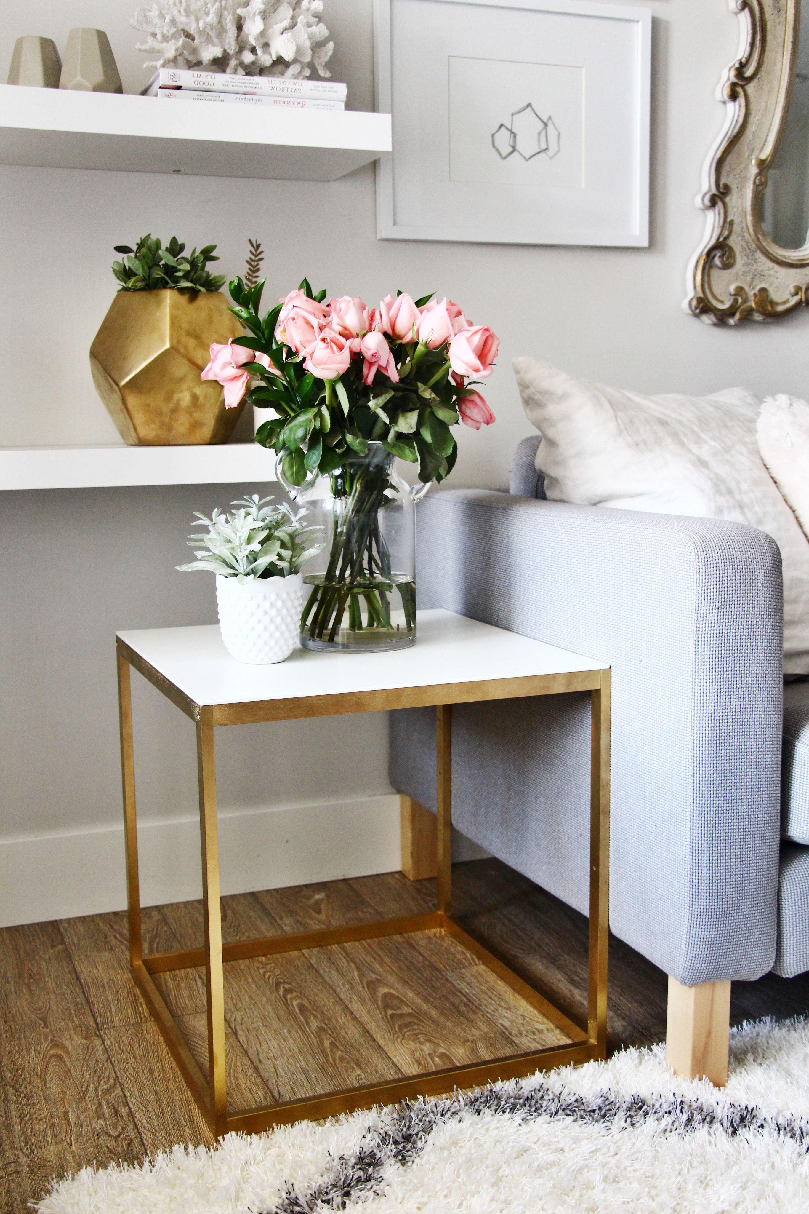 Pinterest Regarding Round White Wash Brass Painted Coffee Tables (View 10 of 20)