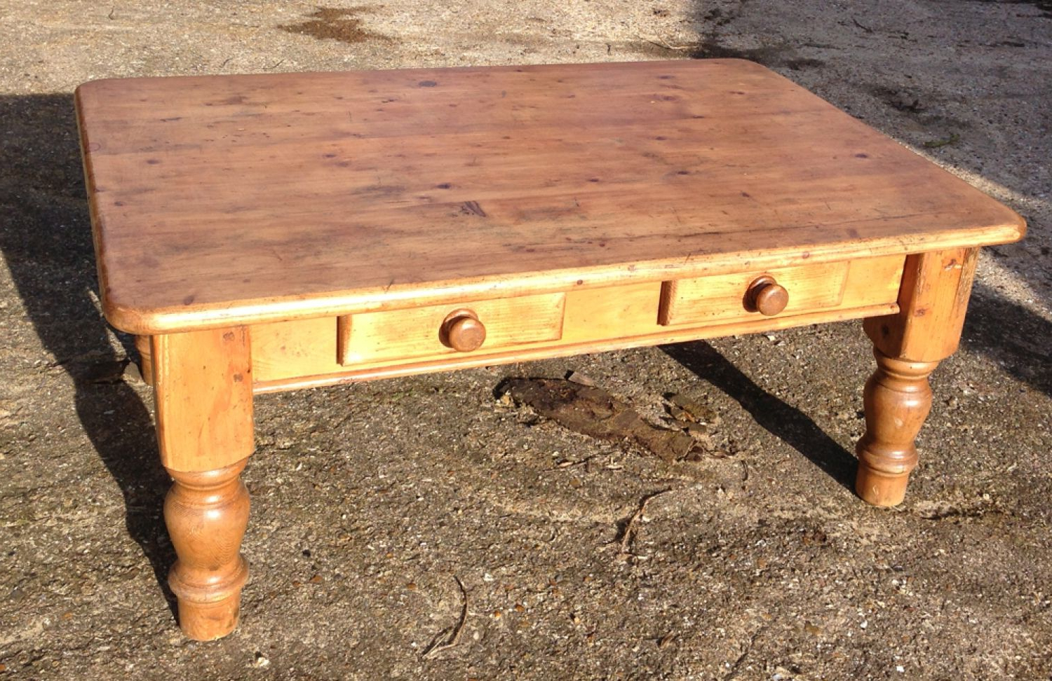 Featured Photo of Antique Pine Coffee Tables