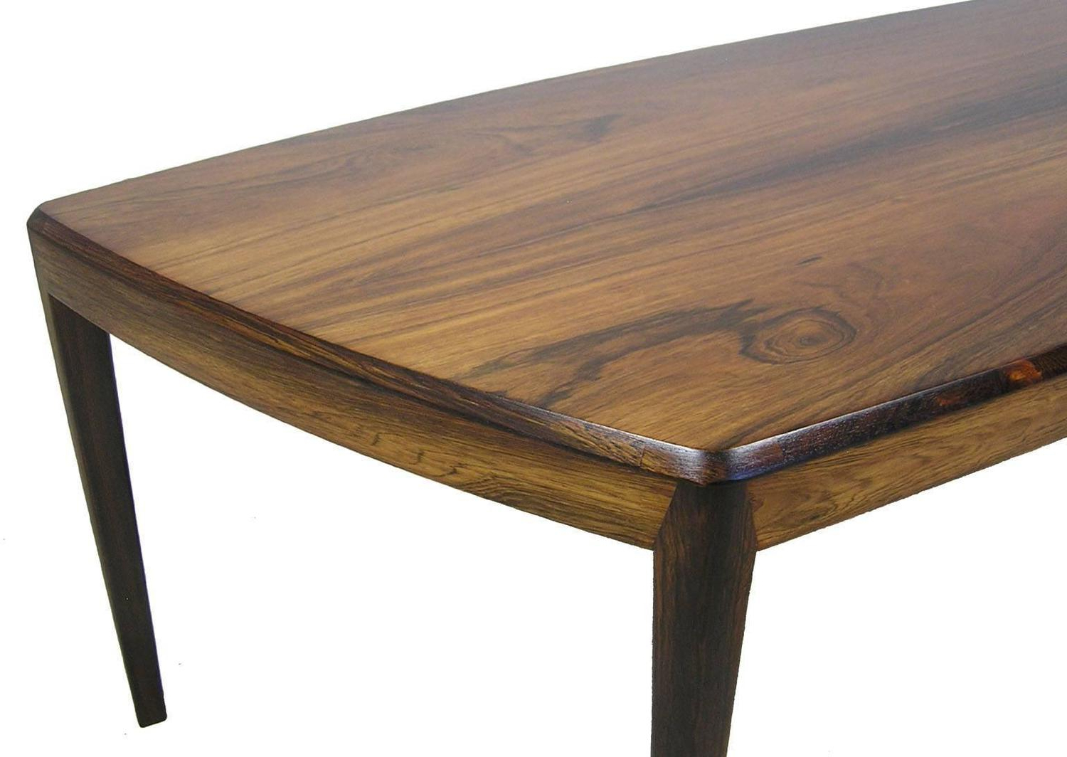 Popular 1960S Brazilian Rosewood Coffee Tablekai Kristiansen, Denmark Pertaining To Kai Large Cocktail Tables (View 15 of 20)