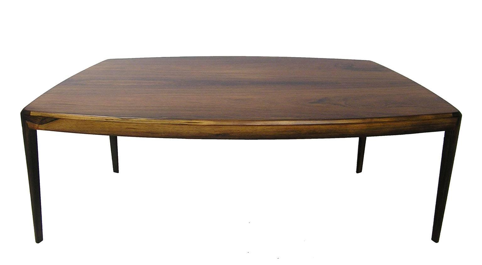 Popular 1960S Brazilian Rosewood Coffee Tablekai Kristiansen, Denmark With Kai Large Cocktail Tables (View 16 of 20)