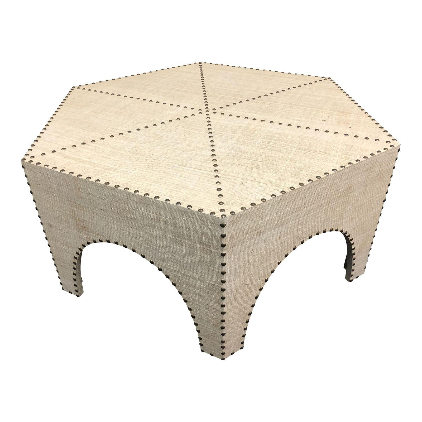 Popular Casablanca Coffee Tables Regarding New Palecek Casablanca Raffia Coffee Table – Design Plus Gallery (Gallery 4 of 20)