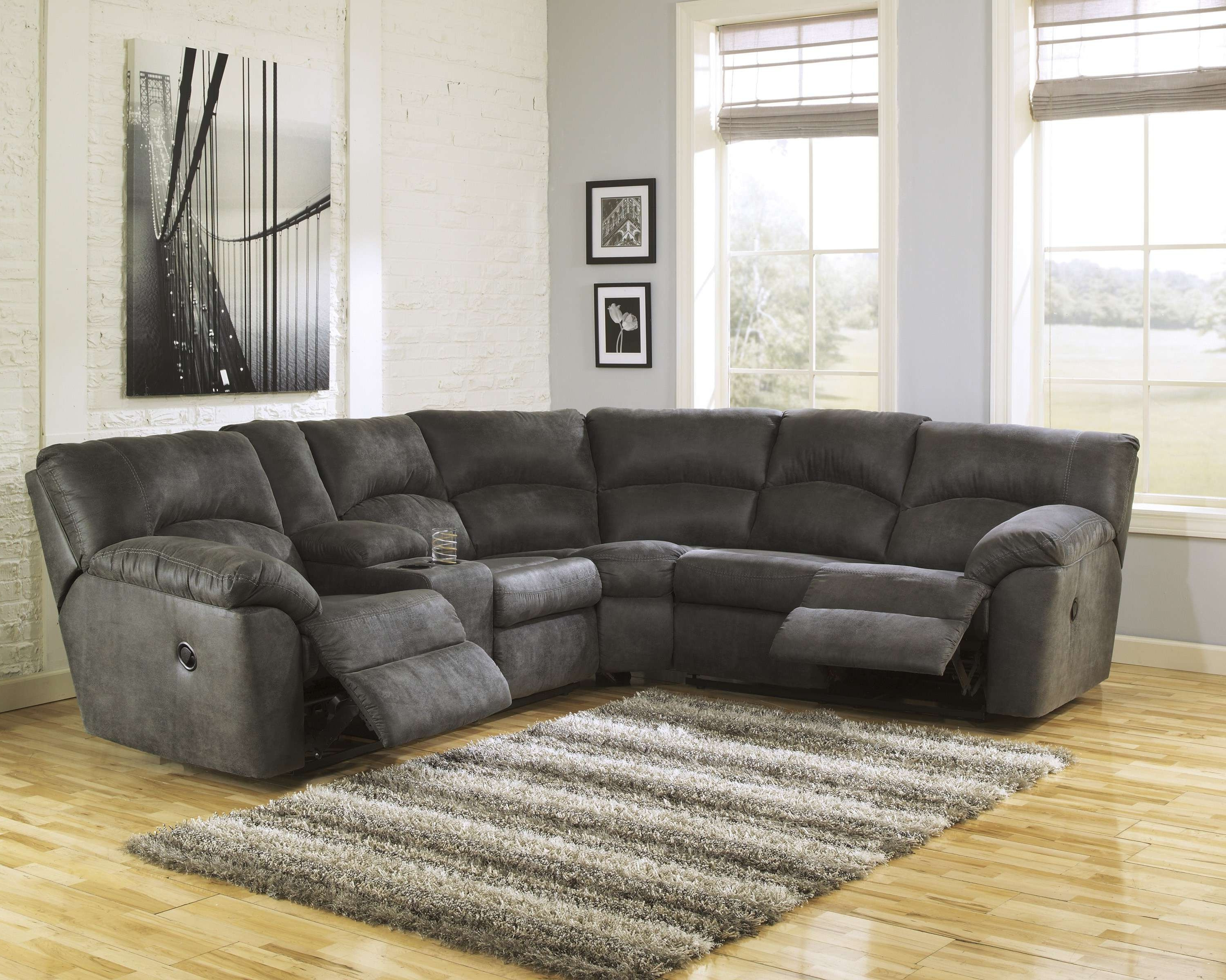 Popular Dark Grey Sectional – Tidex Inside Lucy Grey 2 Piece Sectionals With Raf Chaise (View 11 of 20)